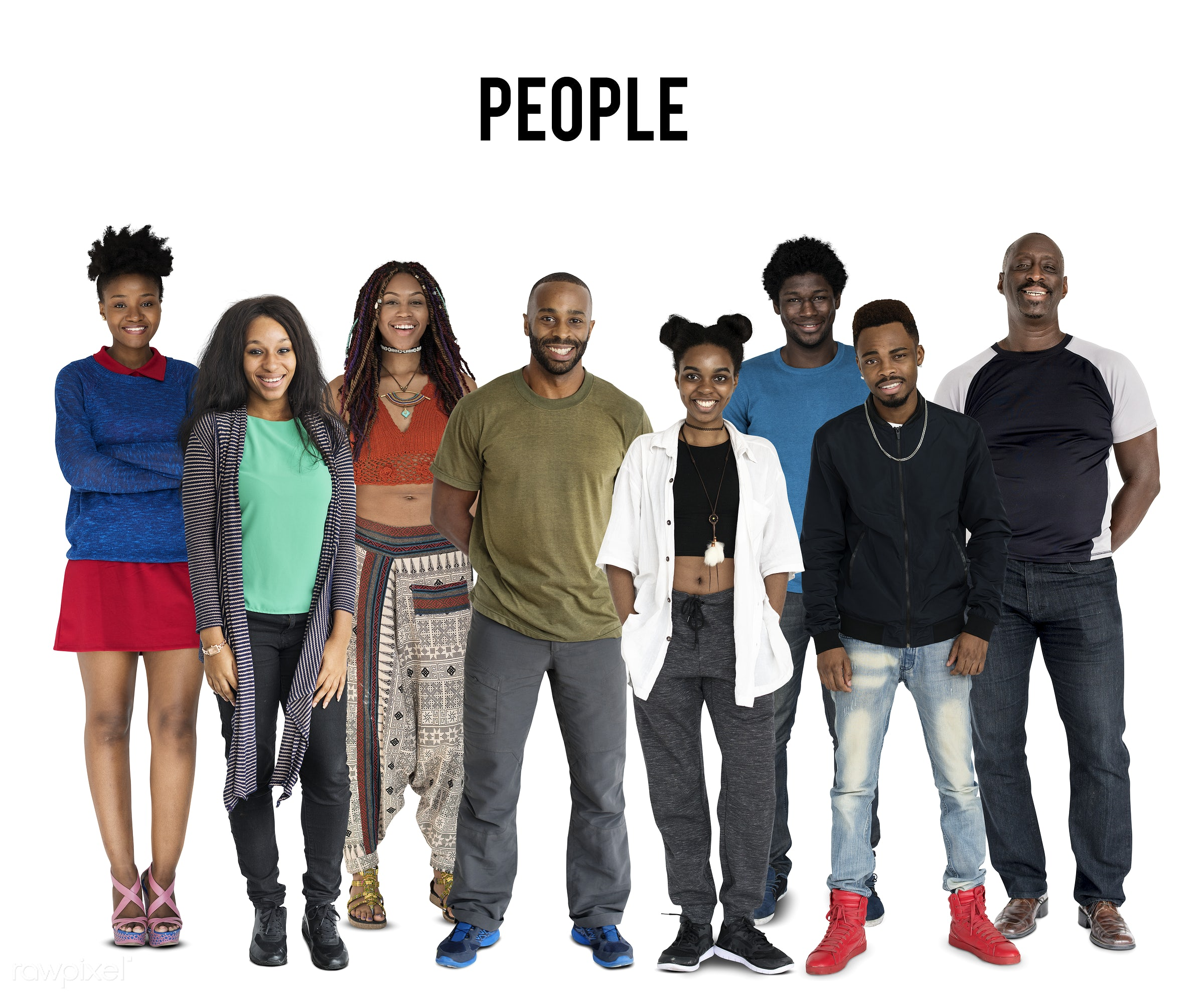 Diverse people set - gentlemen, studio, person, diverse, people, attraction, together, young adult, woman, lifestyle,...