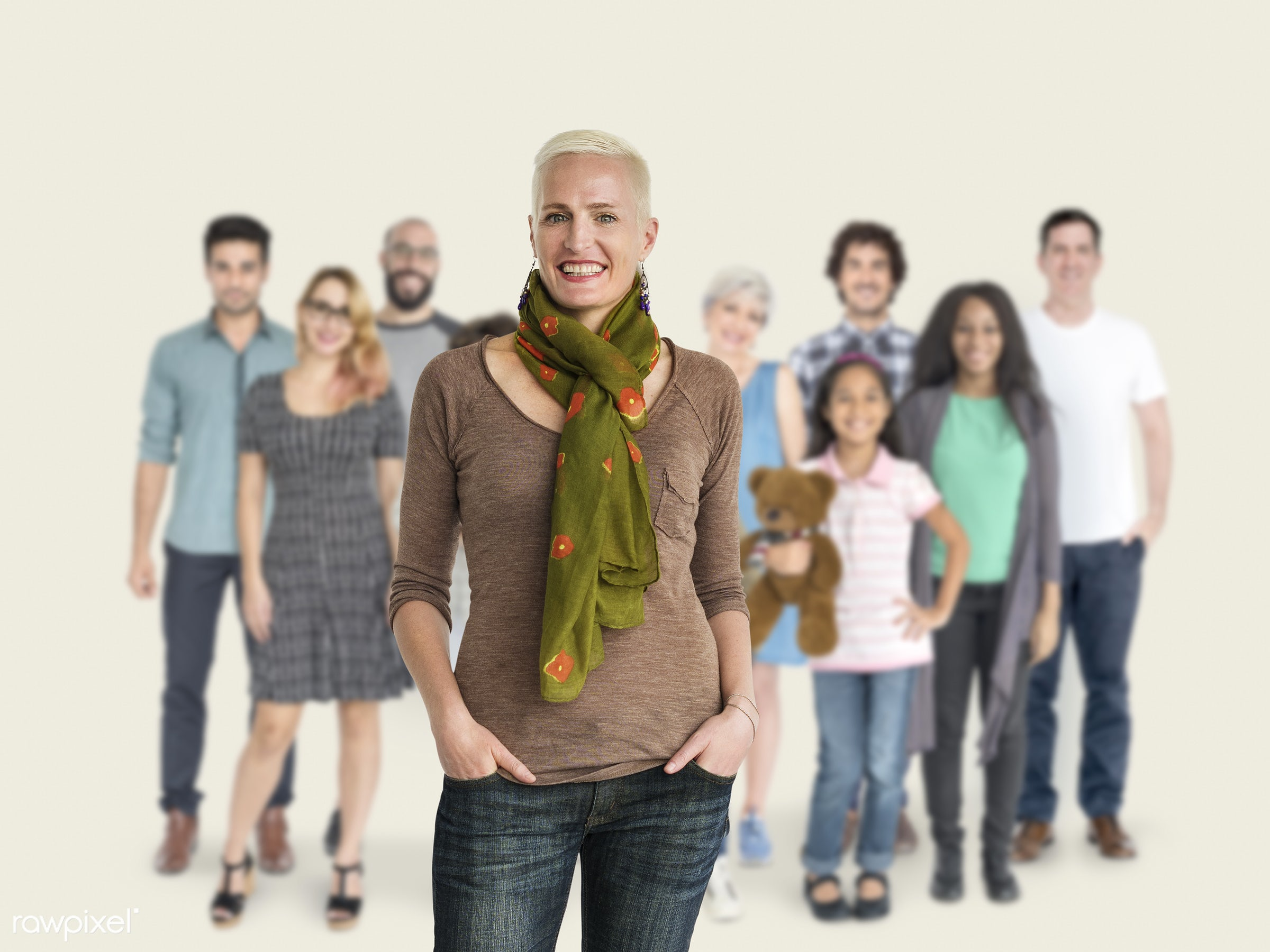 studio, person, diverse, set, retired, retire, collection, people, attraction, together, retirement, life, young adult,...