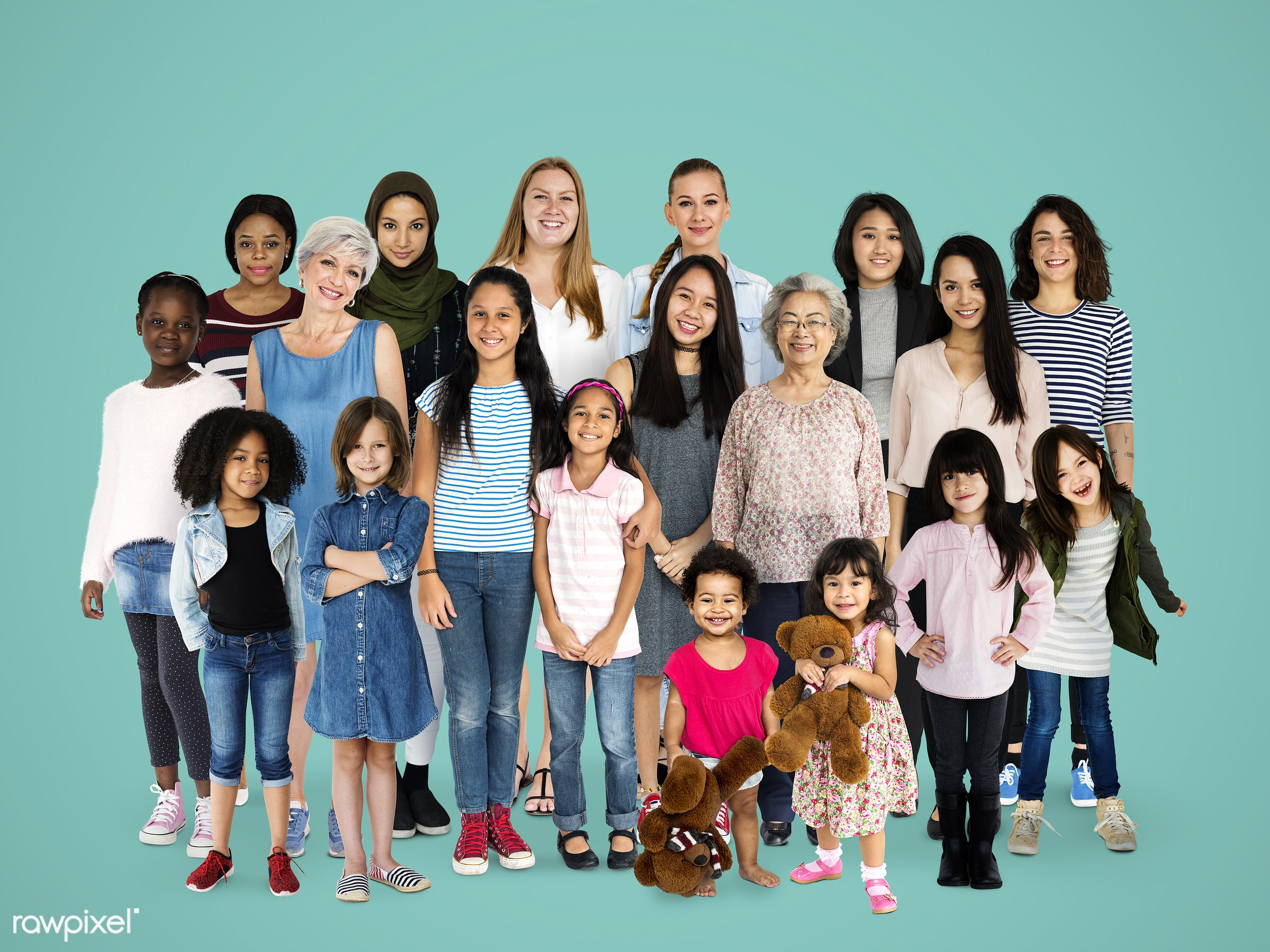 studio, person, diverse, little, people, race, together, attraction, caucasian, asian, kid, retirement, young adult, woman,...