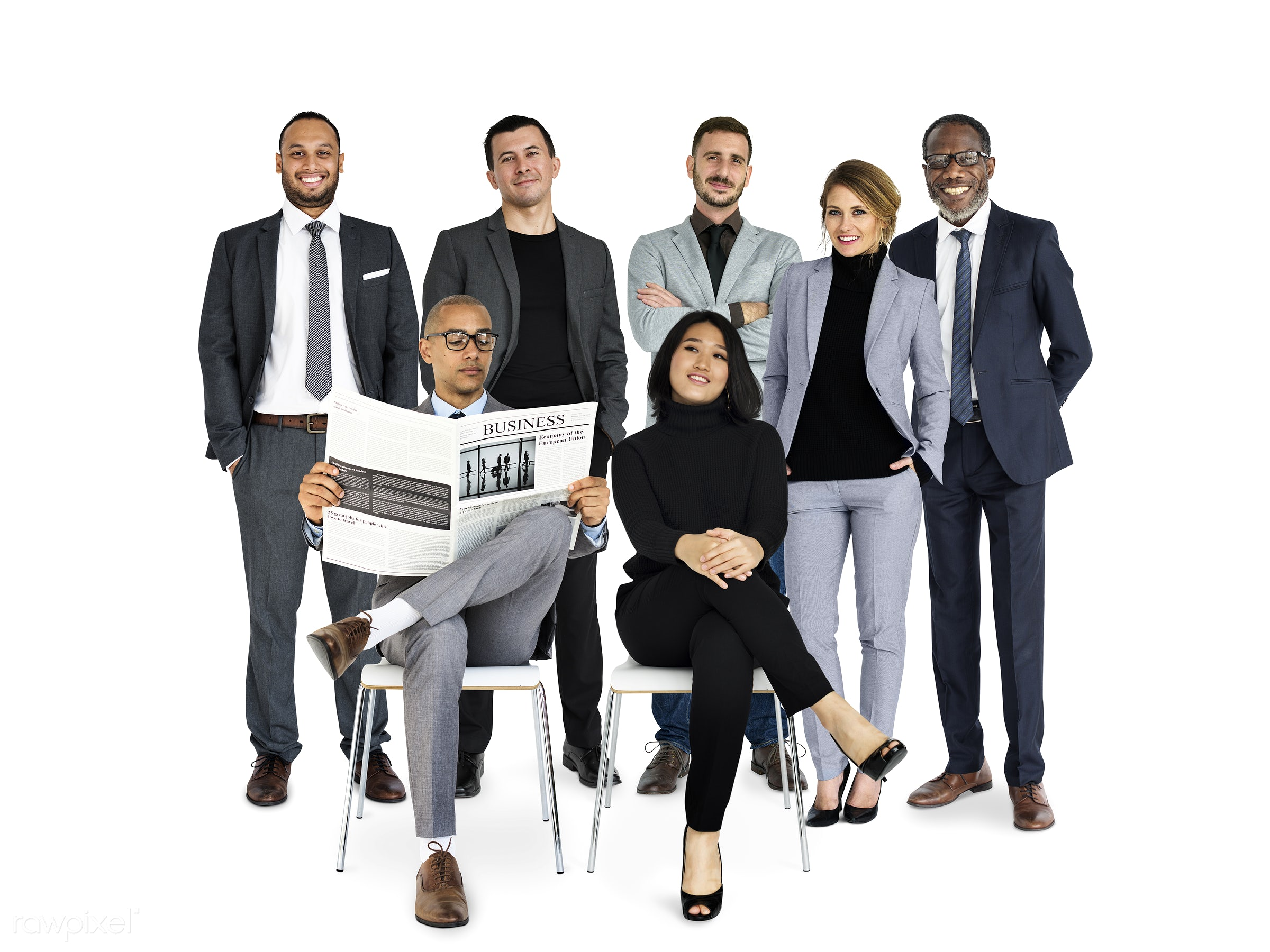 studio, person, reading, diverse, tie, people, together, caucasian, asian, woman, lifestyle, studio squareset, mixed race,...