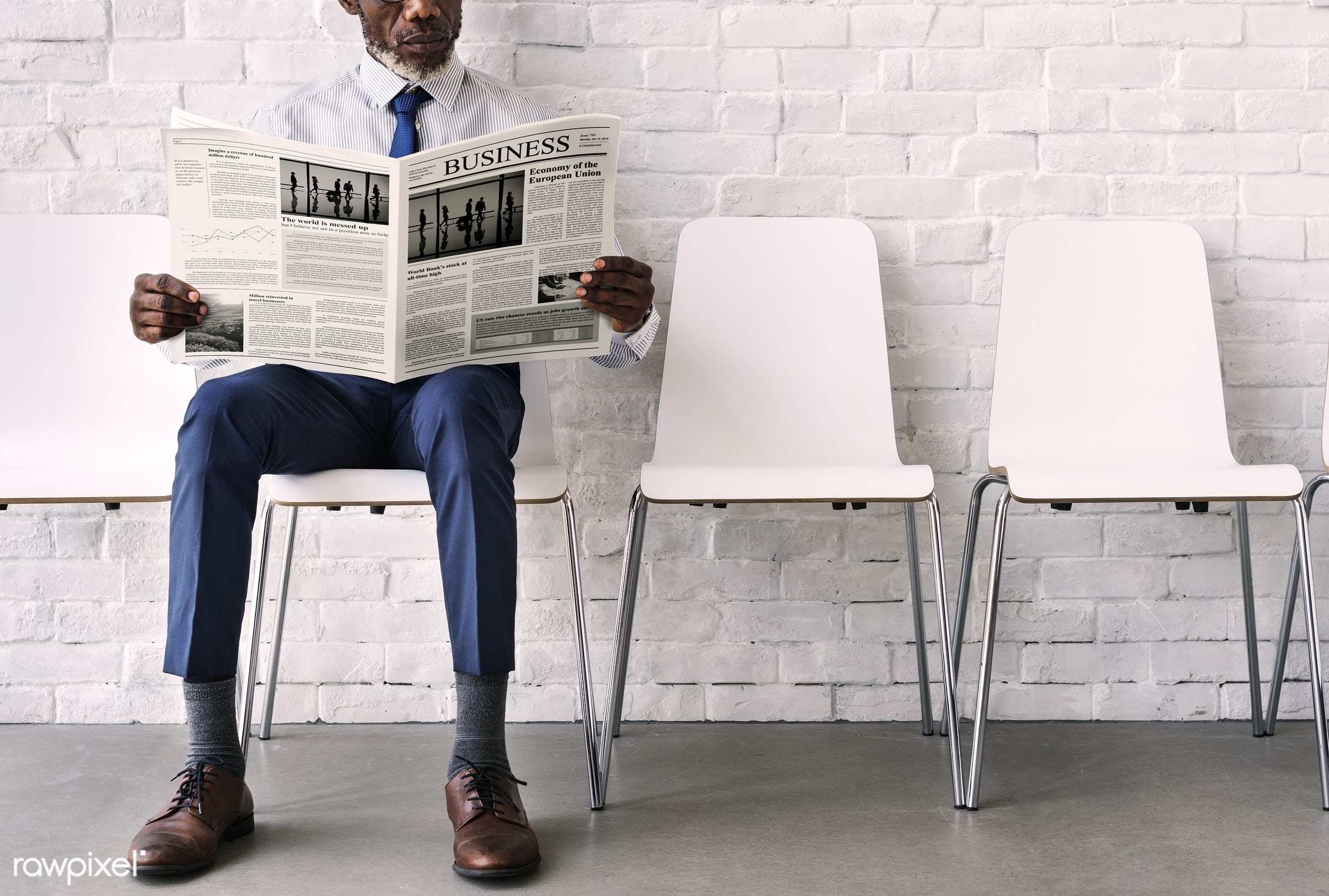 person, reading, employment, indoor, brick wall, holding, recreation, business, caucasian, looking, break, relaxed, read,...