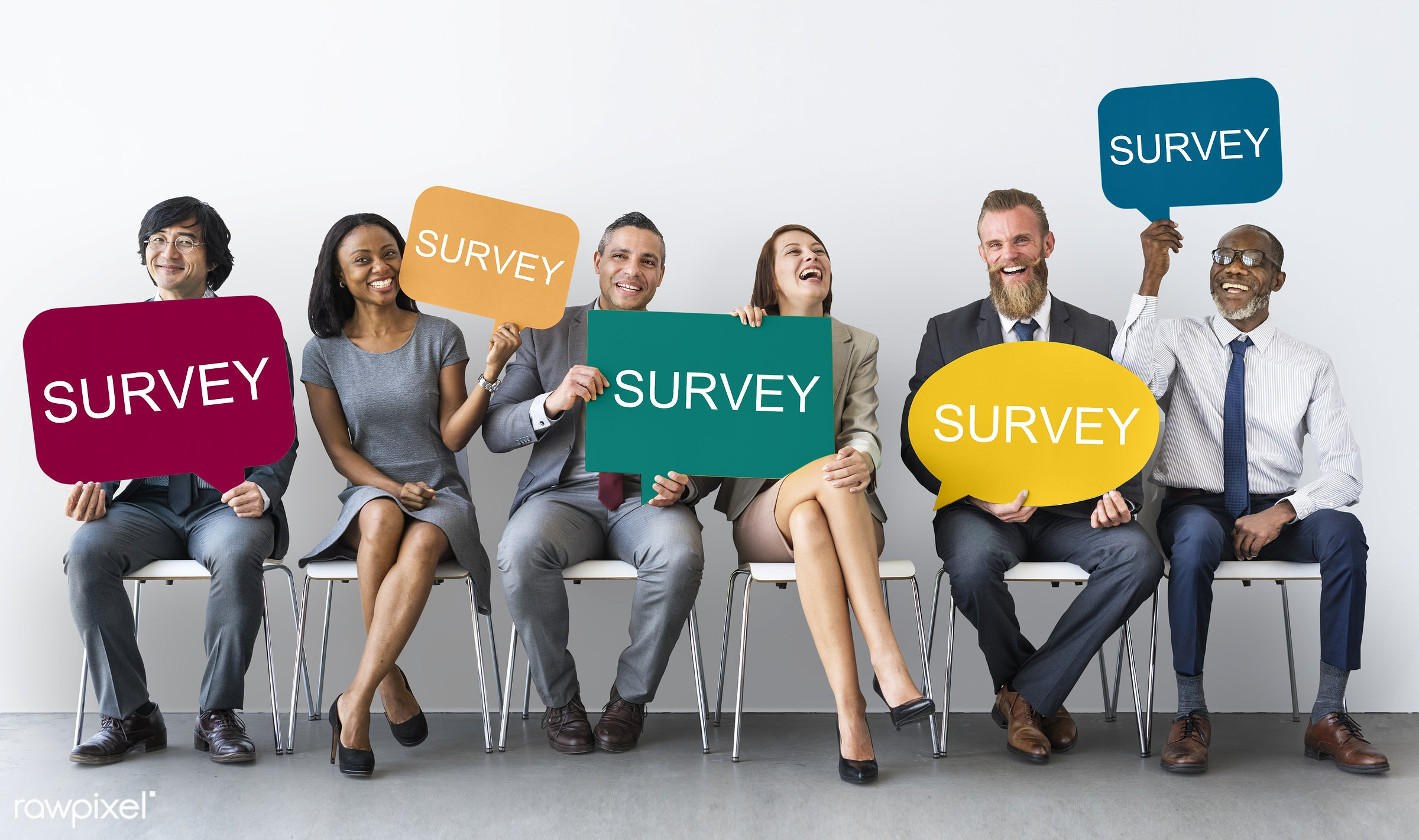 Business survey team - survey, interview, diversity, question, poll, customer, african american, african descent, agent,...