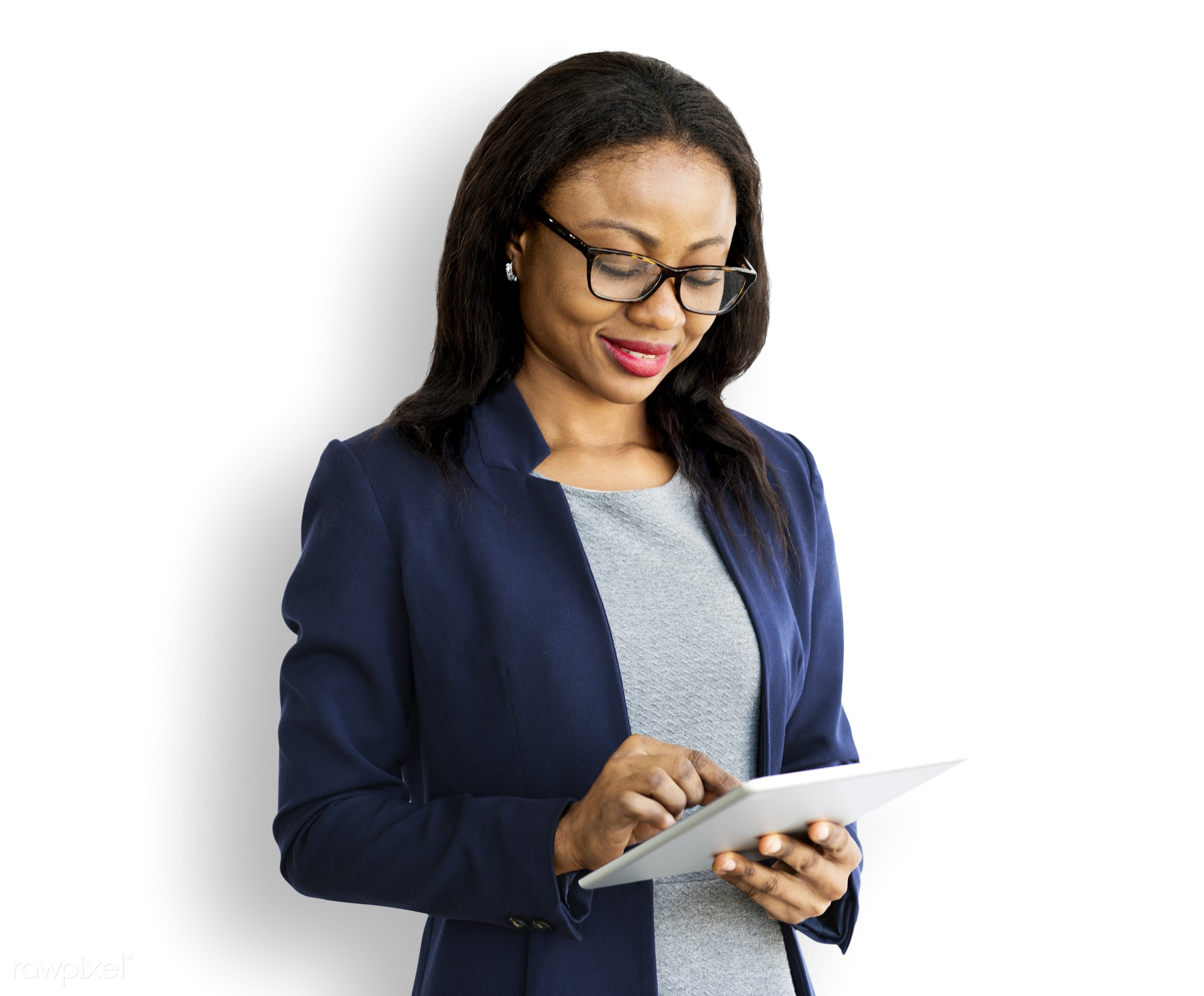 manager, technology, development, corporation, business, digital tablet, woman, report, commercial, networking, isolated,...