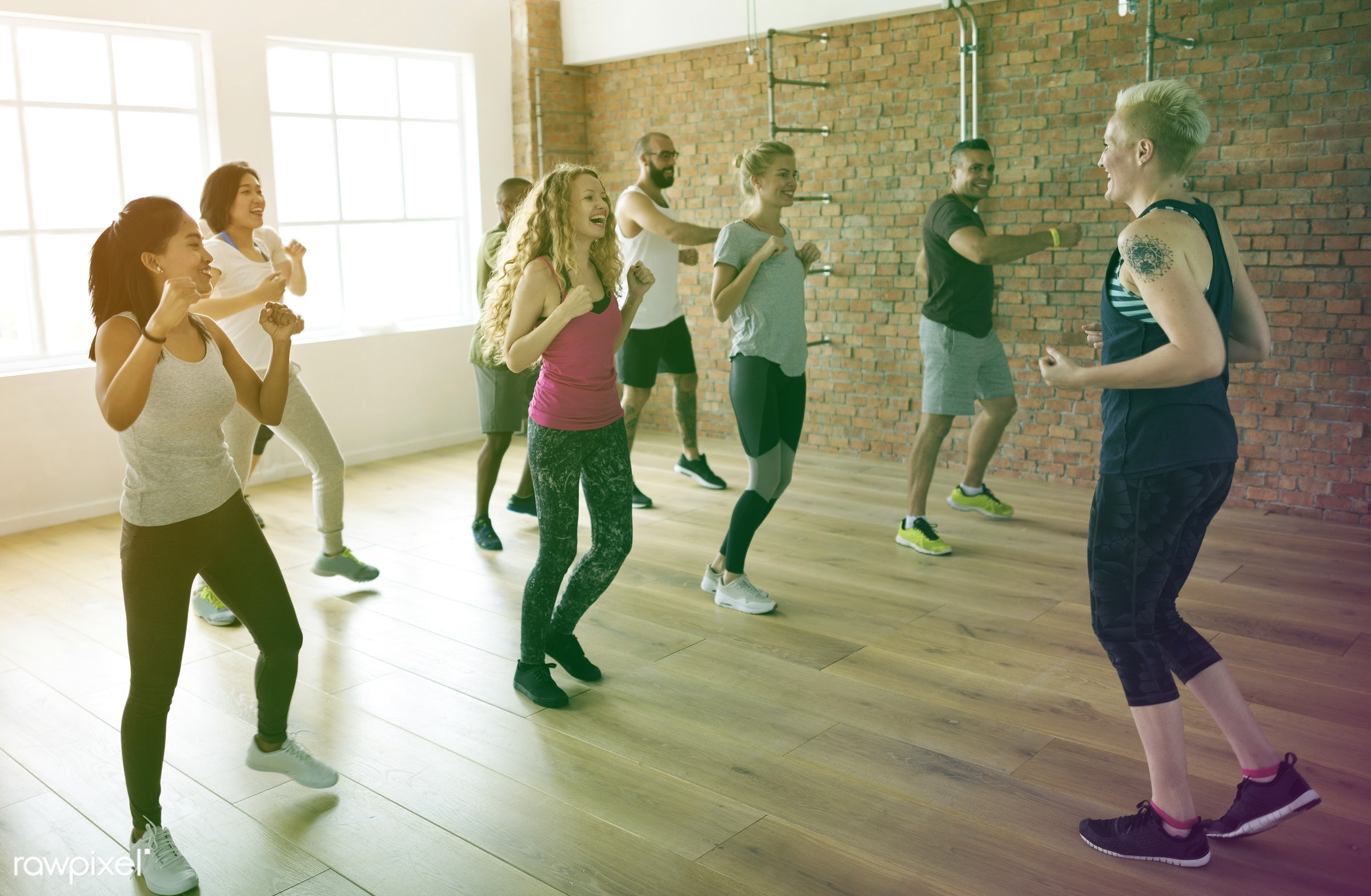 respiration, physical, variation, fitness clothing, recreation, people, stretching, together, lomo, practicing, lifestyle,...