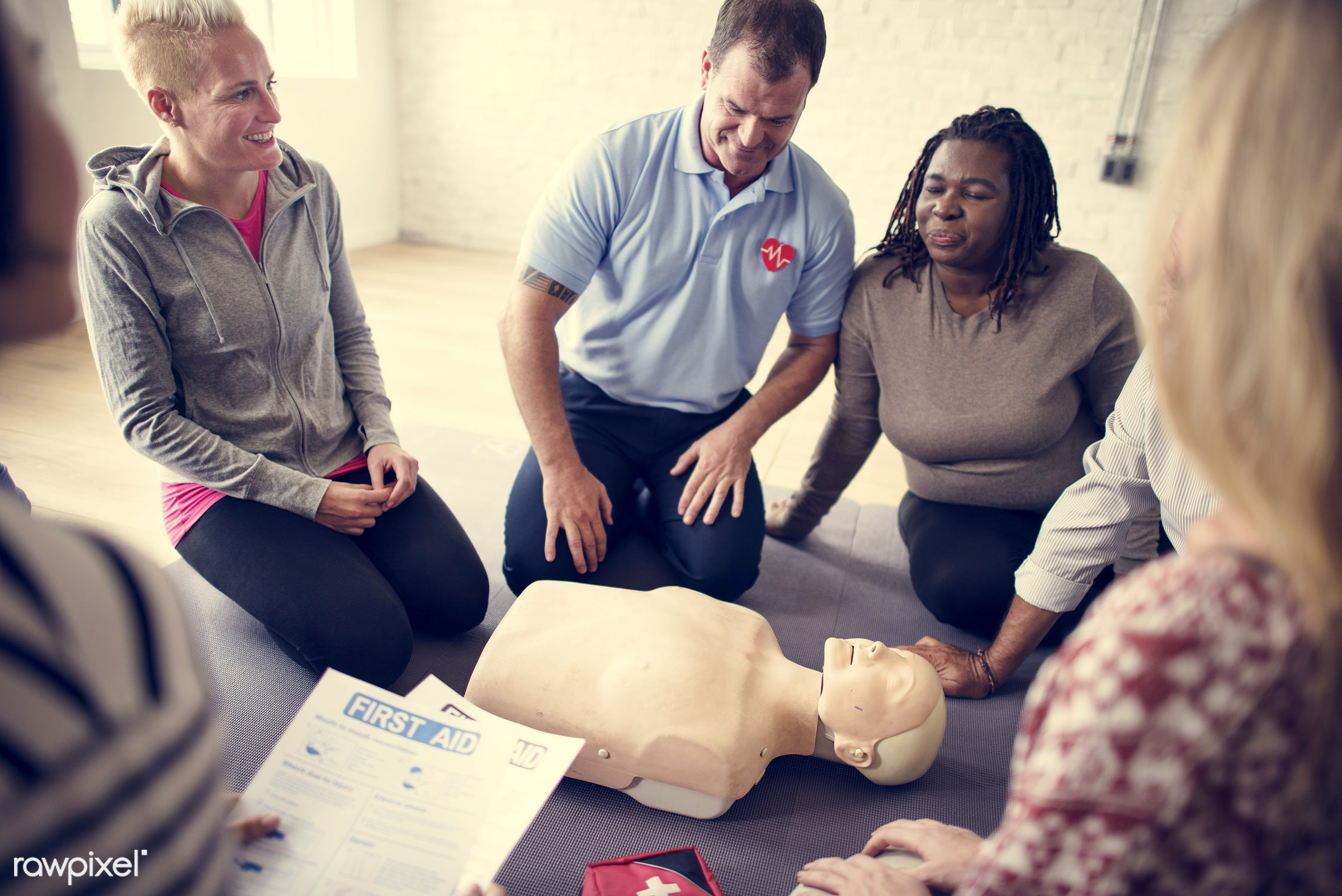 cpr training, person, knowledge, save, first aid, resuscitation, treatment, emergency, indoors, aid, people, emergency...