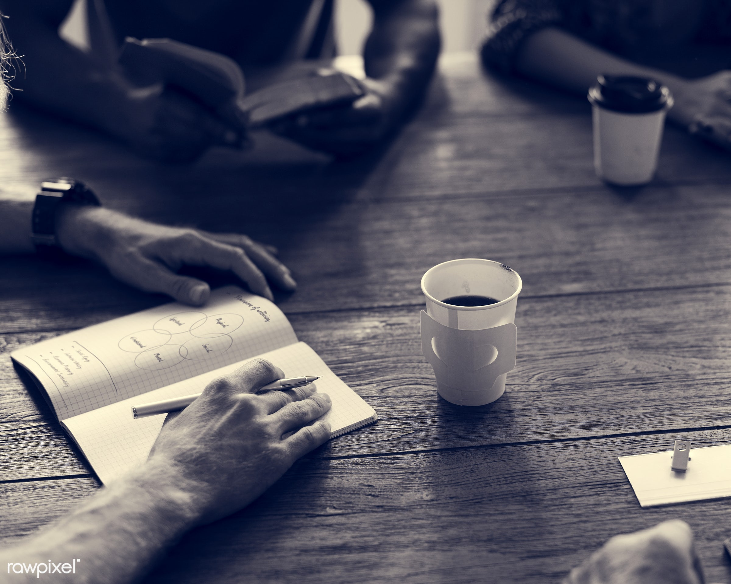 person, discussion, black and white, indoors, circle, people, business, together, share, teamwork, sharing, communicate,...