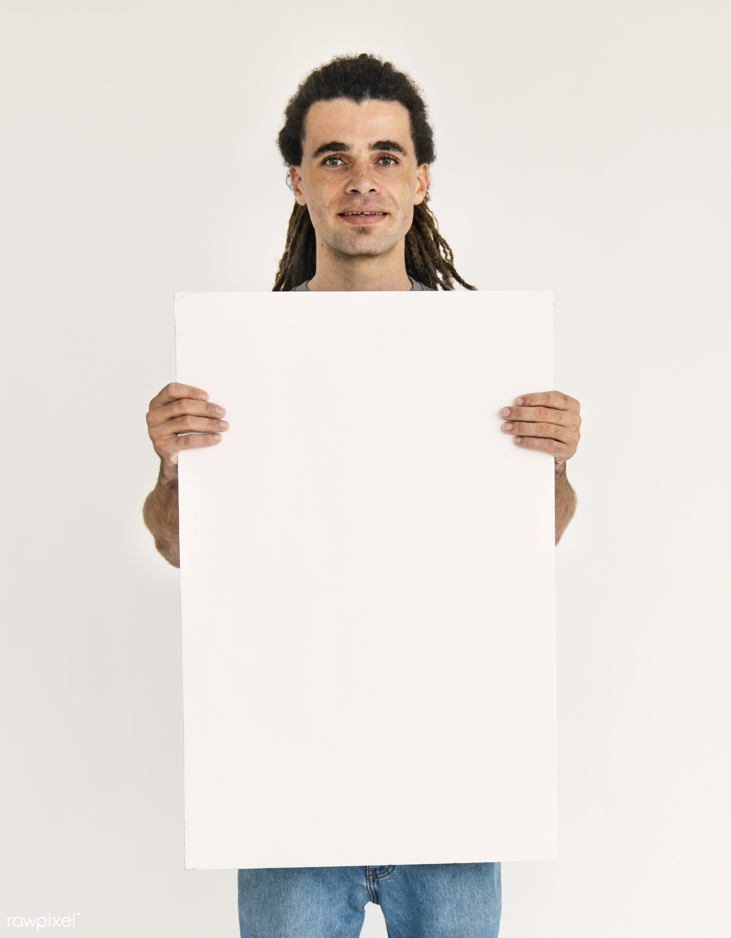 adult, background, banner, billboard, blank, board, canvas, casual, cheerful, concept, copy space, dredlocks, empty,...