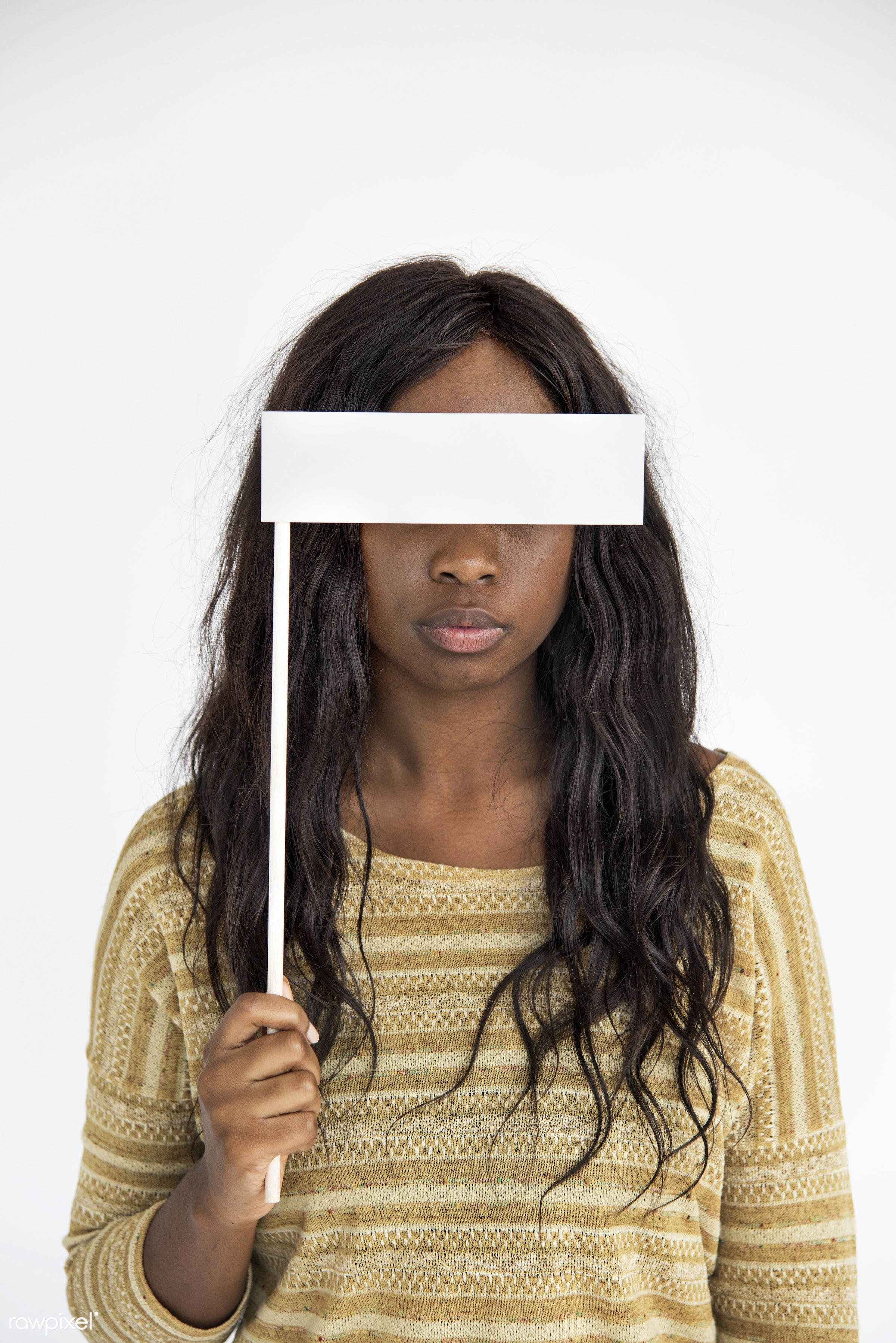 expression, person, mystery, holding, normal, daydreaming, woman, lifestyle, black, gesticulation, isolated, african descent...