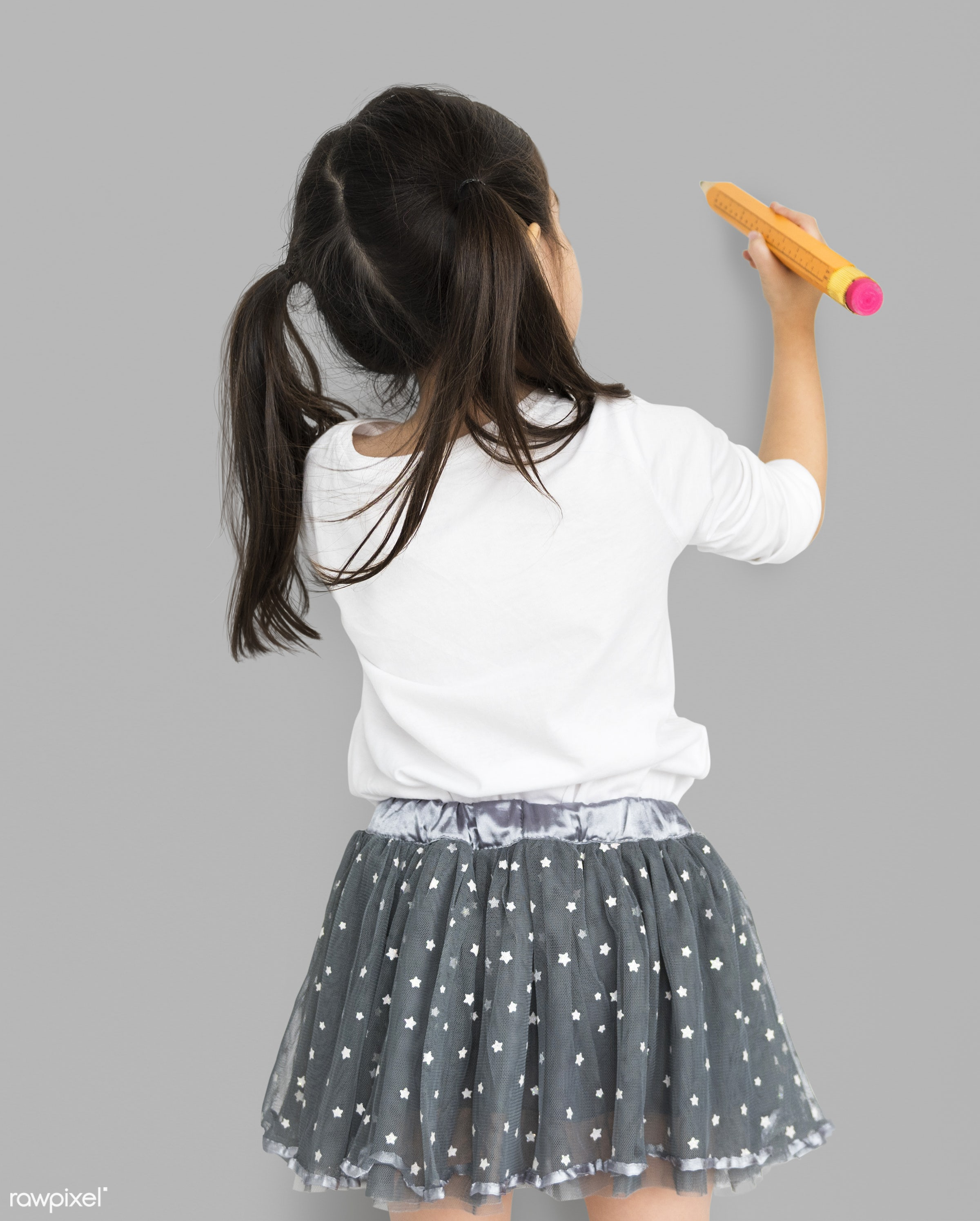 studio, expression, person, little, recreation, people, kid, isolated, little girl, paint, happiness, leisure, fun, shoot,...
