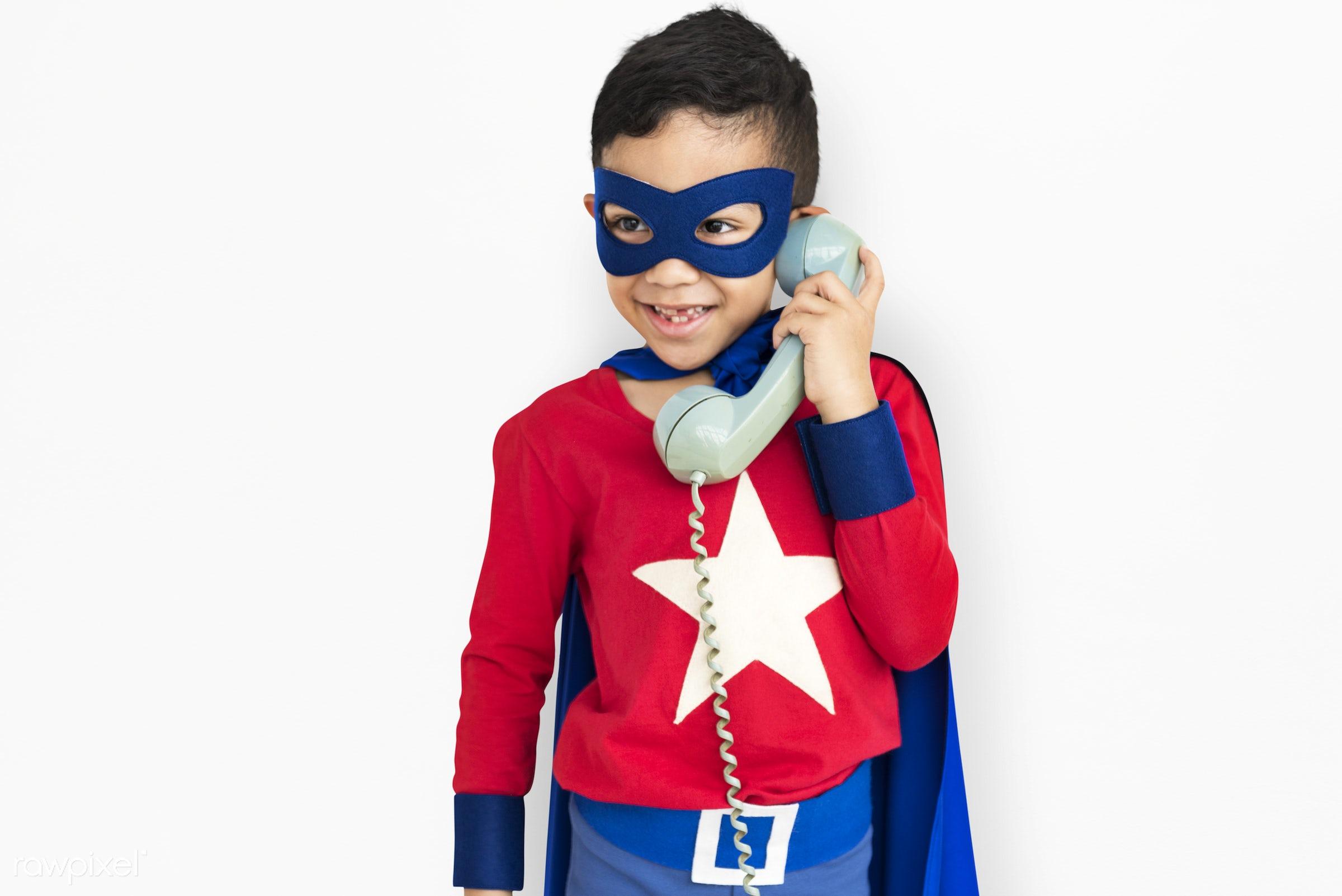 children, courageous, adolescence, kid, child, inspiration, telecommunication, leader, idol, childhood, superhero, isolated...