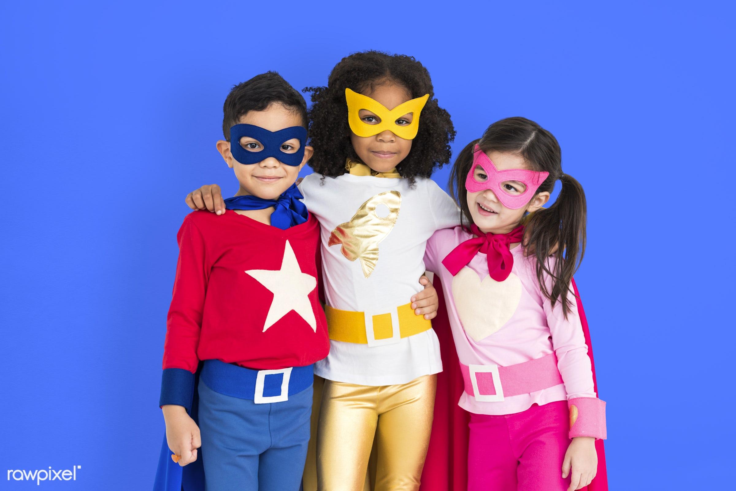 children, courageous, kid, adolescence, child, girl, inspiration, leader, idol, childhood, superhero, isolated, hero,...