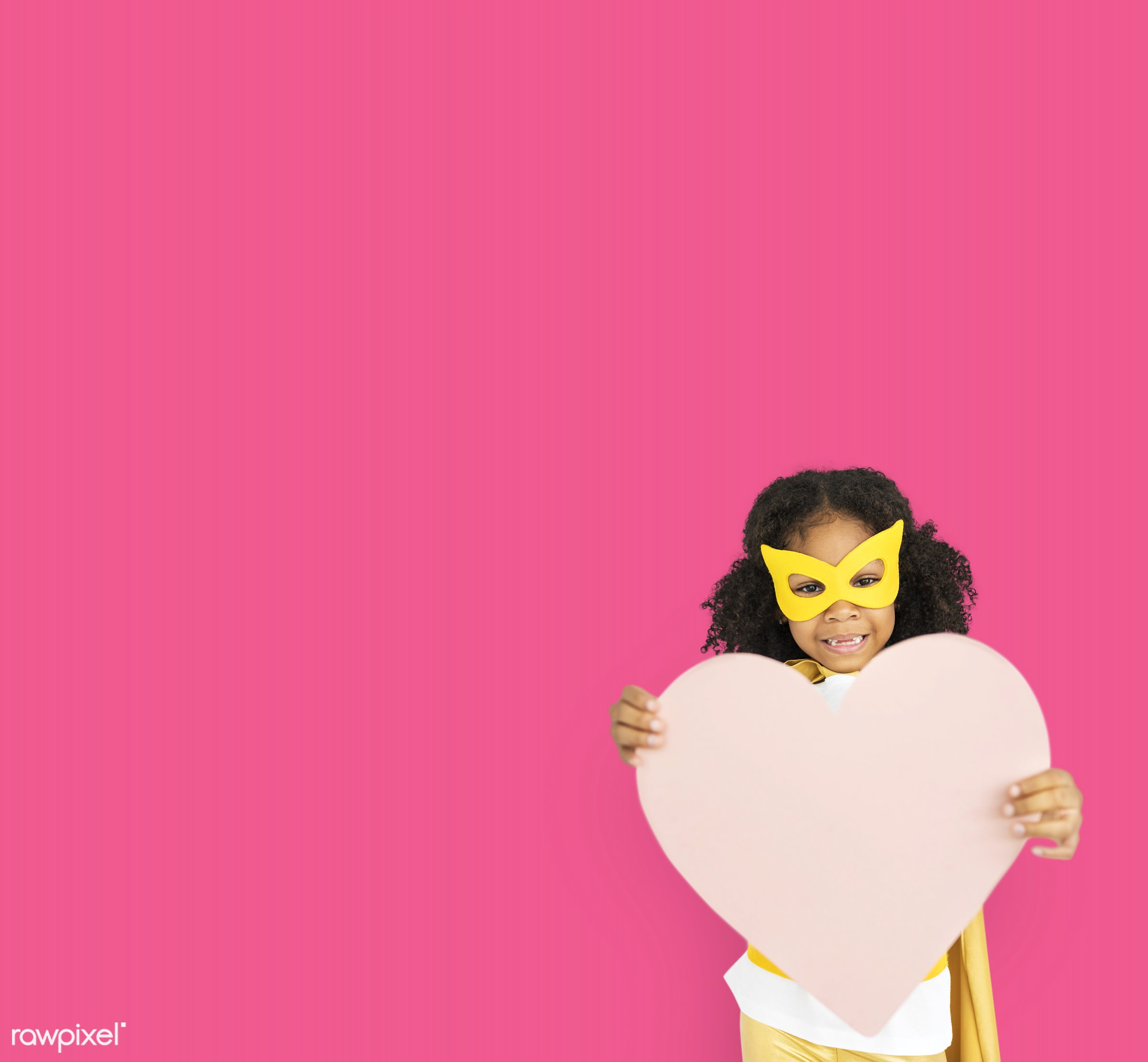 studio, expression, person, holding, mask, people, kid, love, solo, pink, childhood, smile, cheerful, smiling, isolated,...