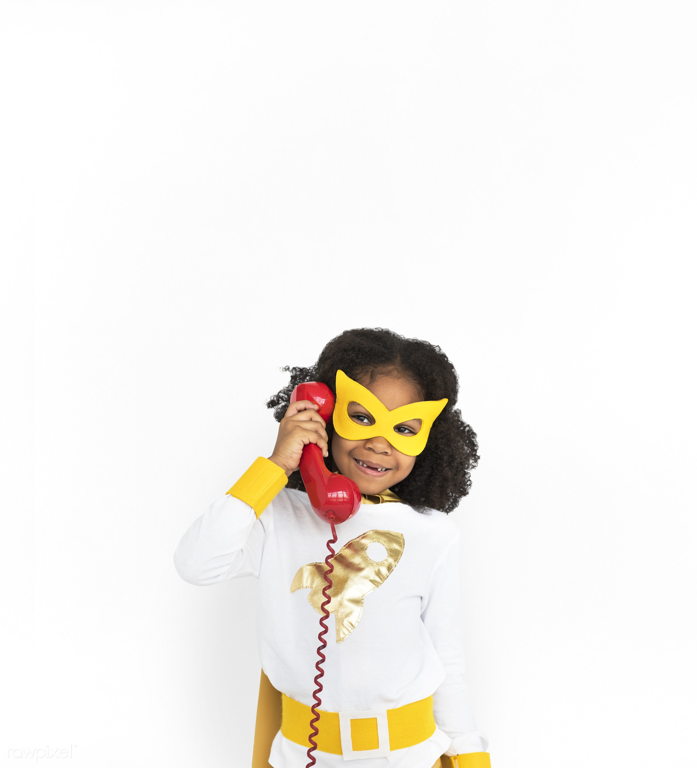 studio, expression, person, mask, people, kid, telecommunication, solo, childhood, smile, cheerful, smiling, isolated,...