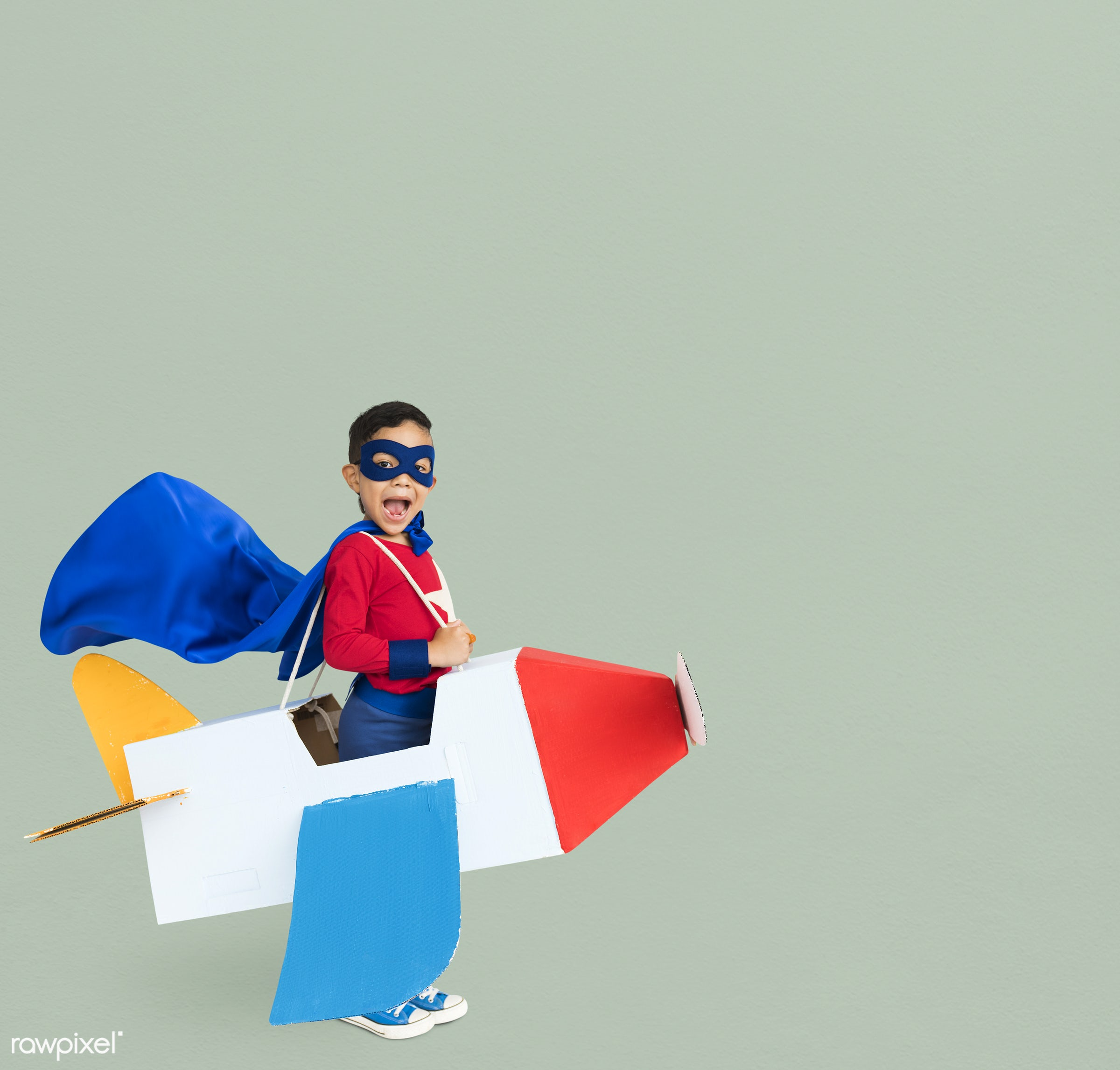 studio, expression, person, mask, people, kid, solo, childhood, smile, cheerful, smiling, isolated, airplane, happiness,...