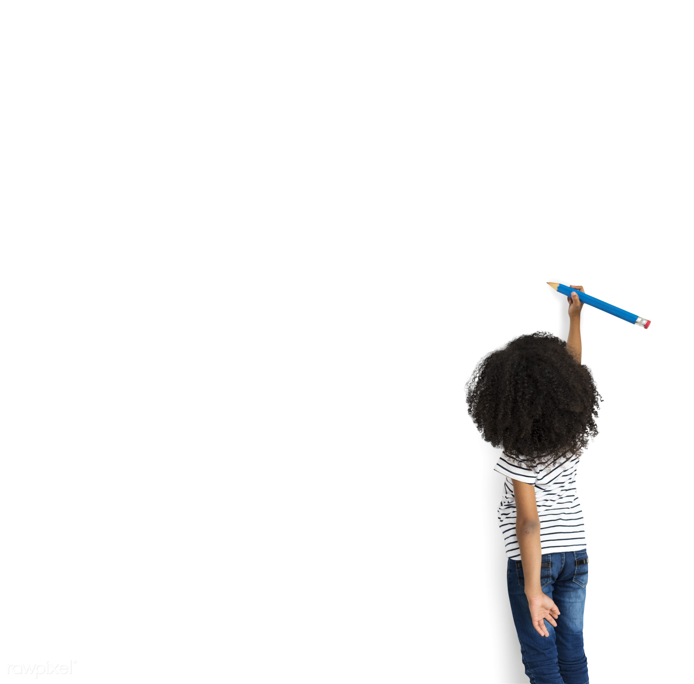 studio, expression, person, isolated on white, little, people, creativity, drawing, kid, child, draw, girl, solo, sketching...