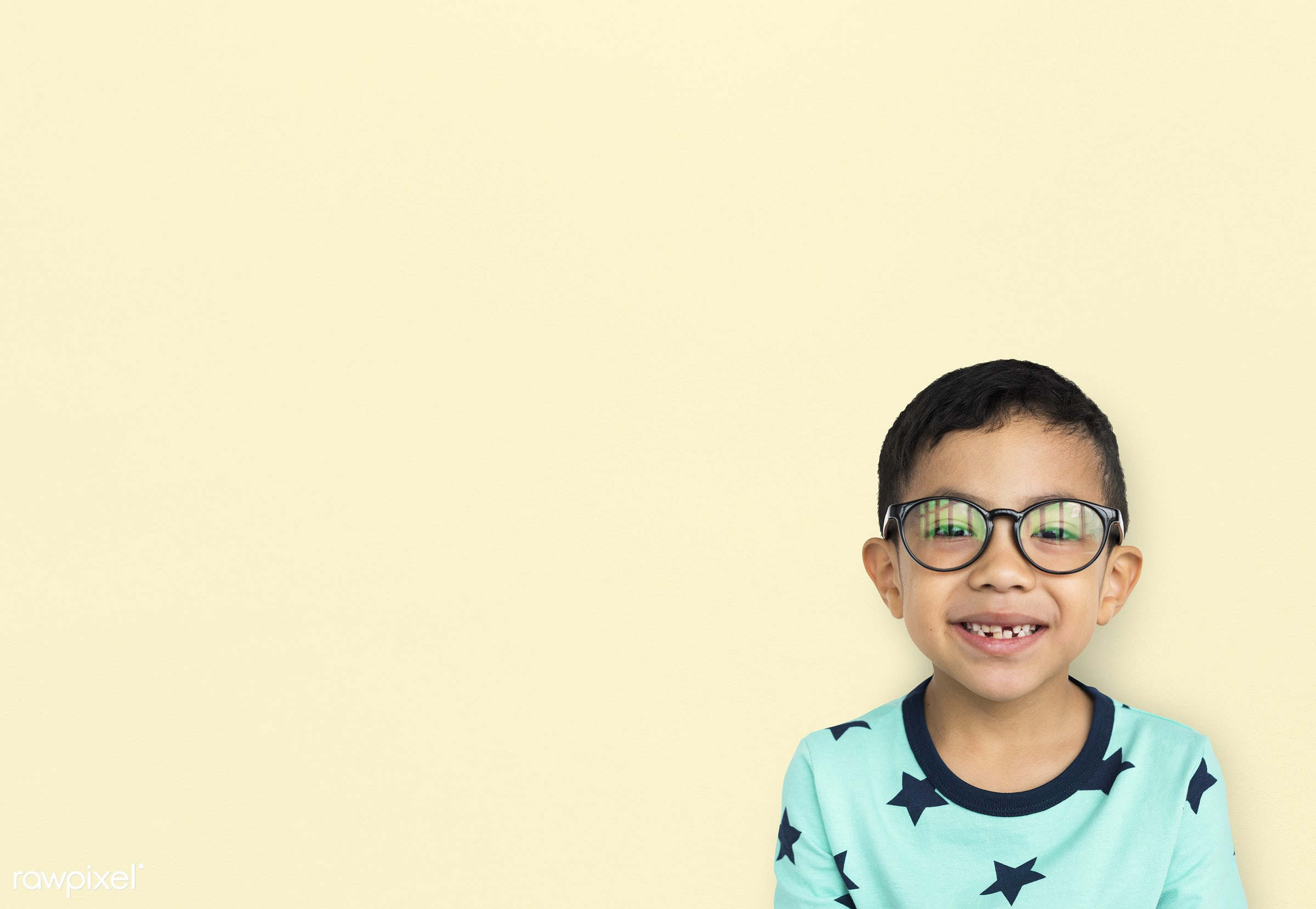studio, expression, person, little, people, asian, nerd, solo, black hair, childhood, smile, cheerful, alone, isolated,...
