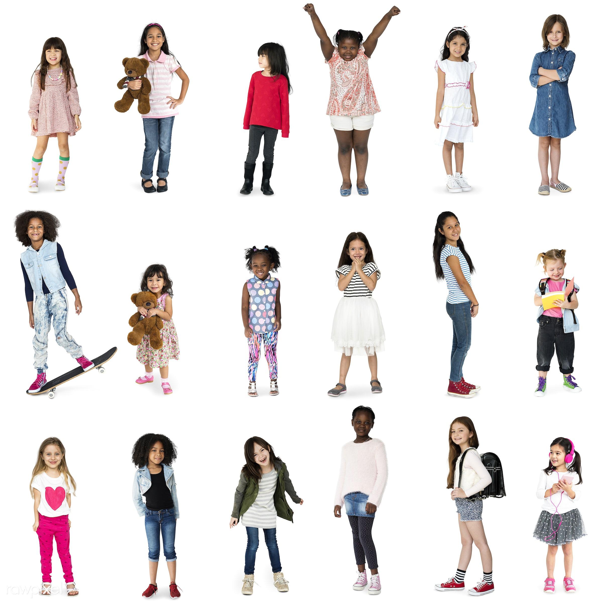 studio, person, diverse, set, children, little, entertain, collection, recreation, pretty, people, caucasian, asian, child,...