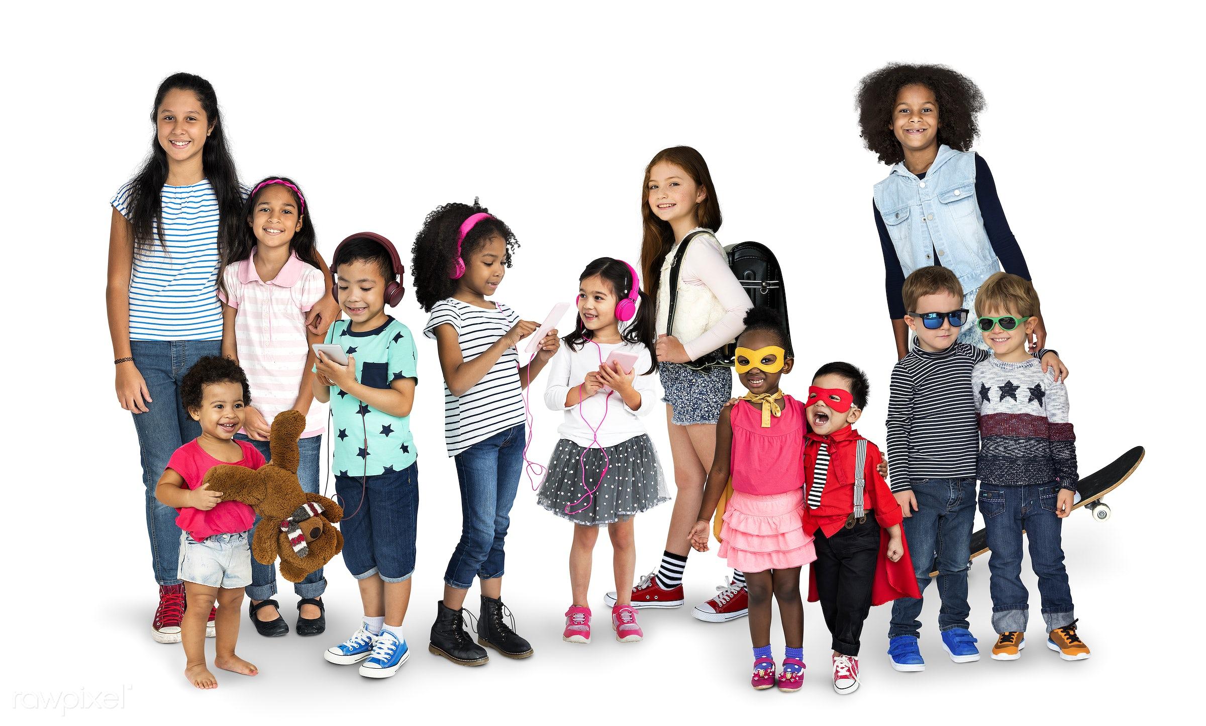 studio, person, diverse, innocent, little, recreation, people, asian, caucasian, little girls, teenager, lifestyle, studio...