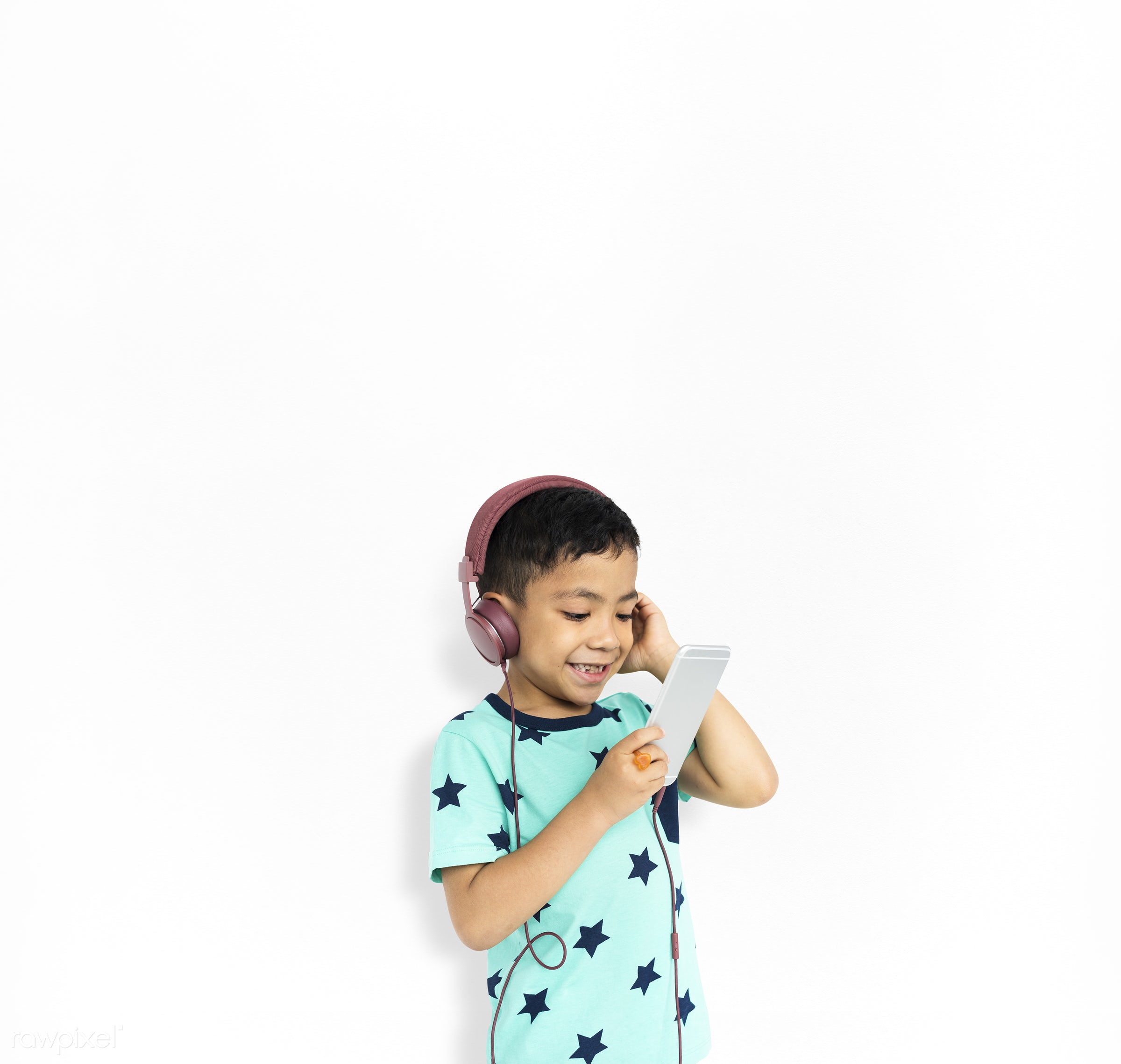 studio, expression, person, isolated on white, cute, pretty, people, drawing, child, happy, casual, childhood, cheerful,...