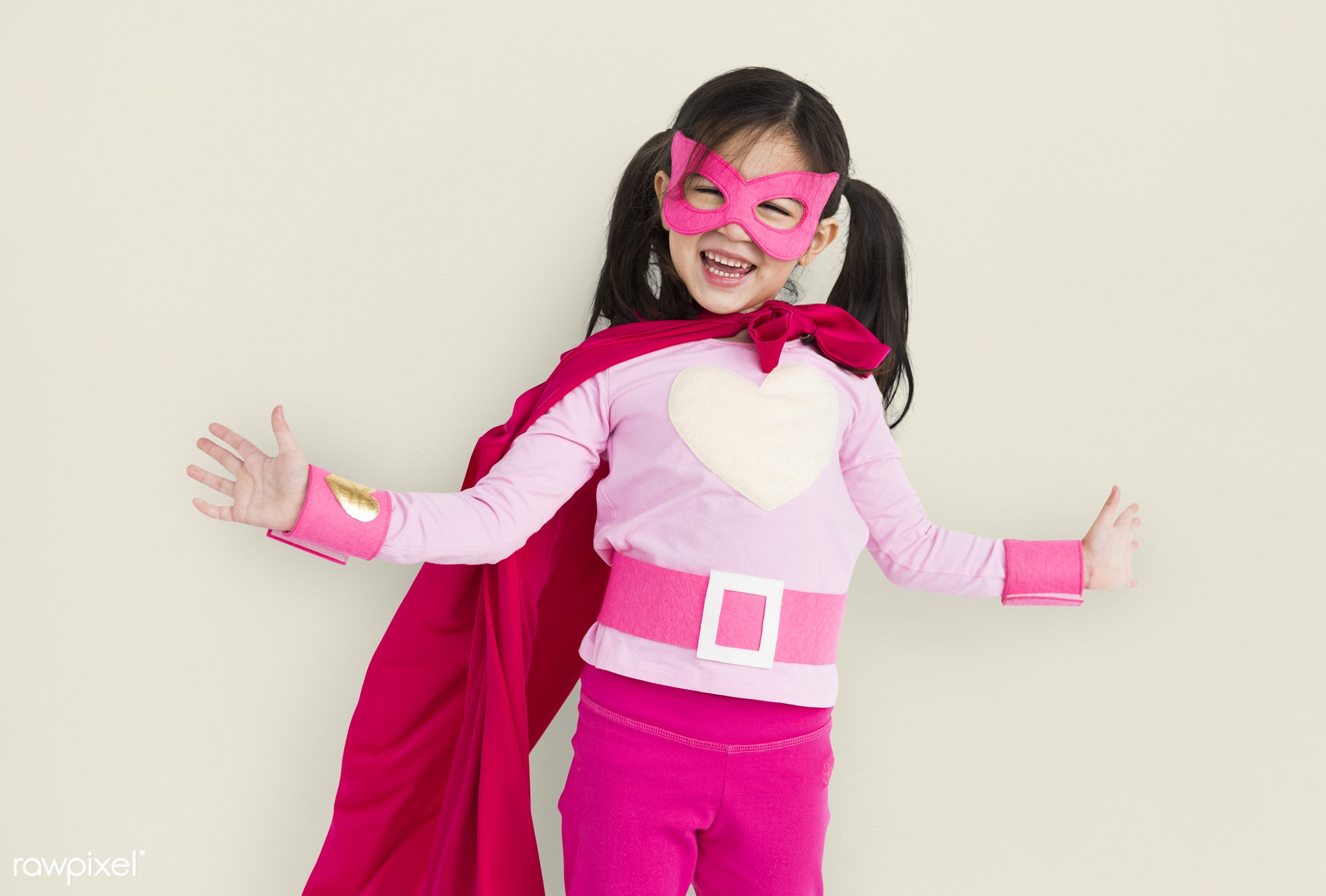 studio, person, model, children, race, people, kid, asian, child, girl, style, solo, lifestyle, casual, superhero, isolated...