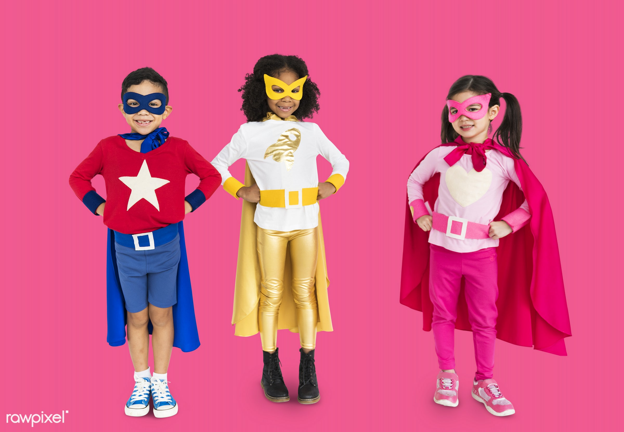 expression, studio, super hero, person, phone, cape, little, children, calling, cute, people, together, kid, child, girl,...