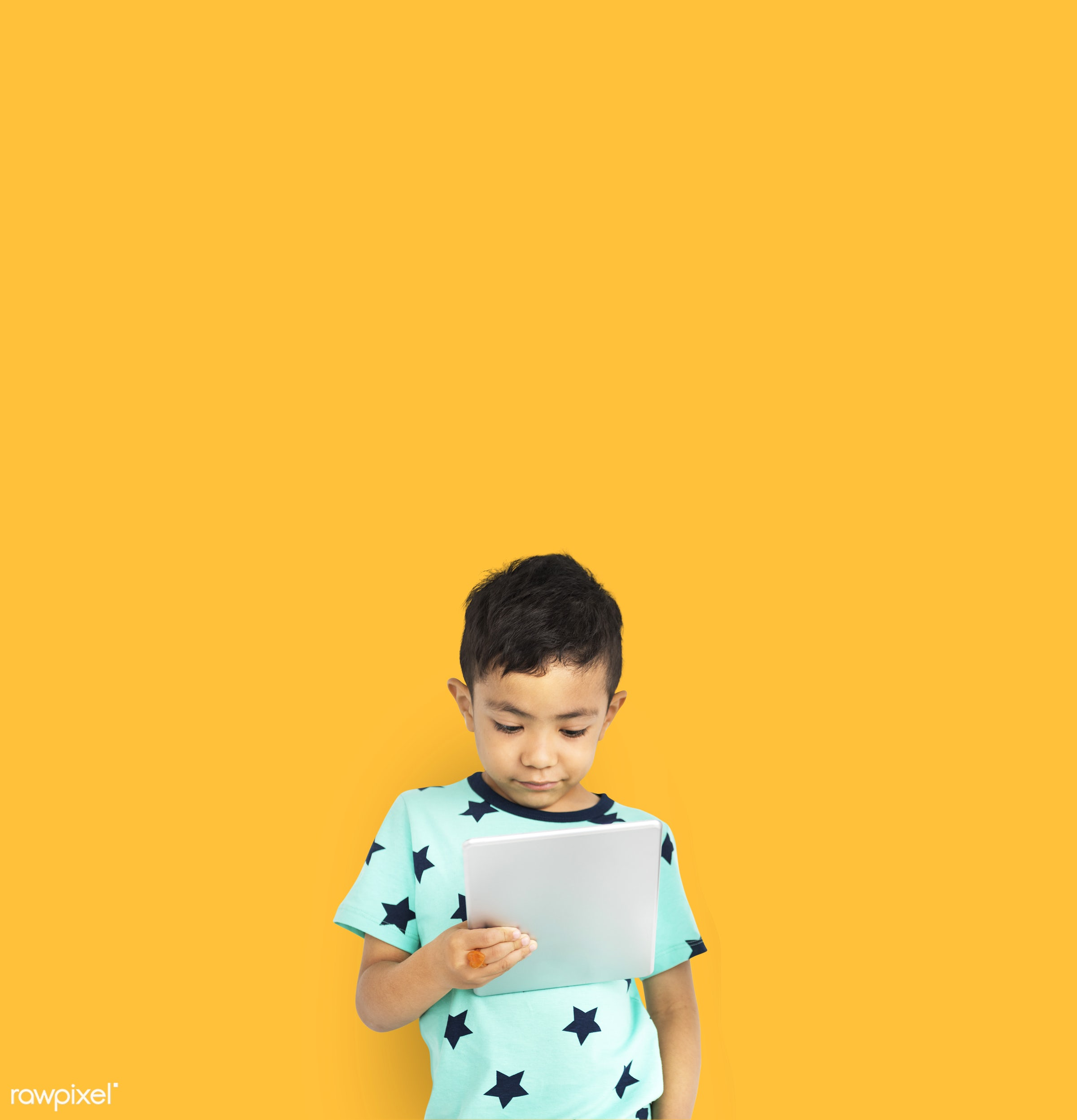 studio, person, reading, knowledge, technology, innocent, yellow, people, kid, asian, child, student, solo, contemplating,...