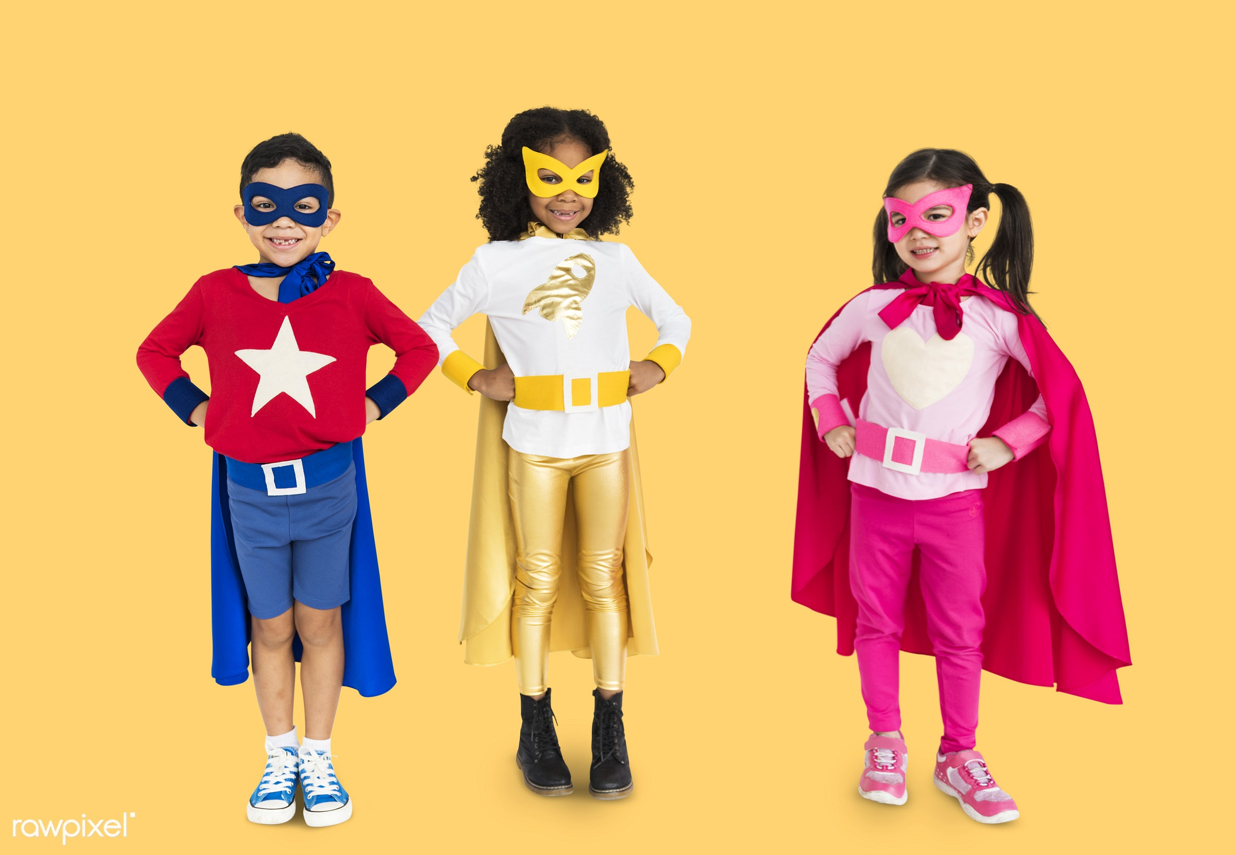 studio, expression, super hero, phone, person, cape, little, children, calling, cute, people, together, kid, child, girl,...