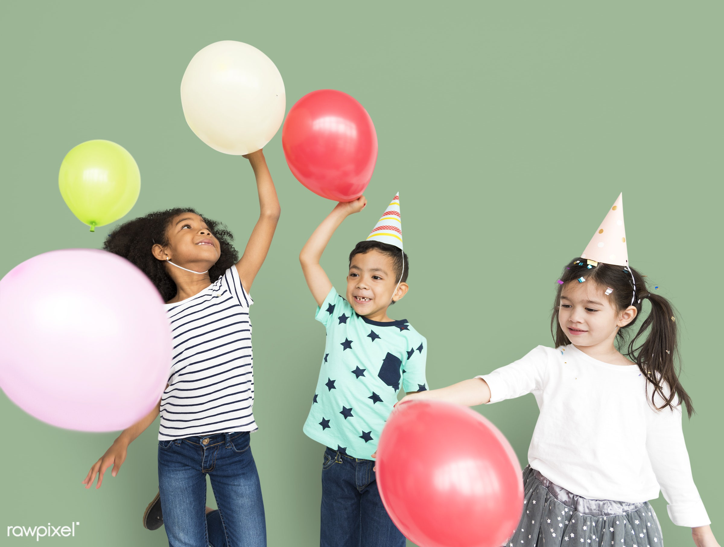 studio, expression, person, little, children, party, cute, people, pose, girl, friends, happy, friendship, smile, cheerful,...