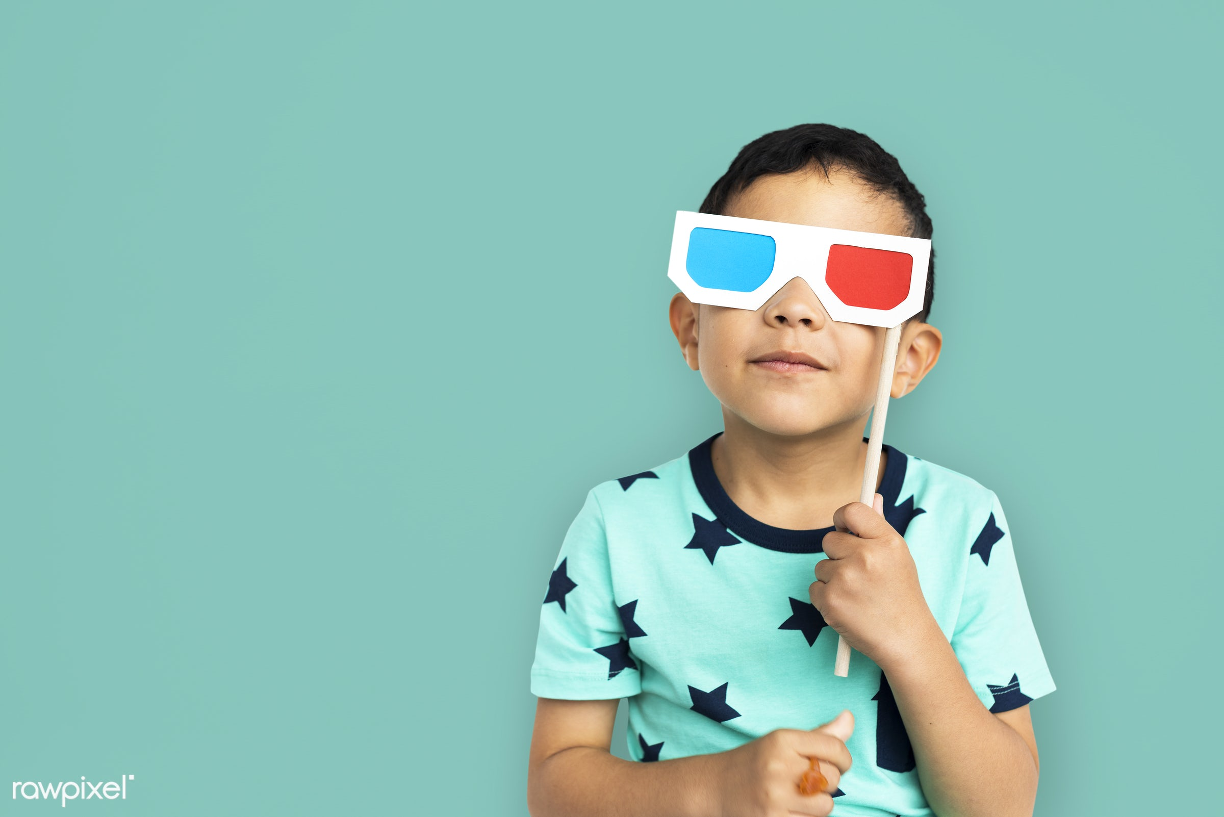 expression, studio, person, glasses, joy, little, 3d glasses, cute, people, kid, child, joyous, happy, cheerful, isolated,...