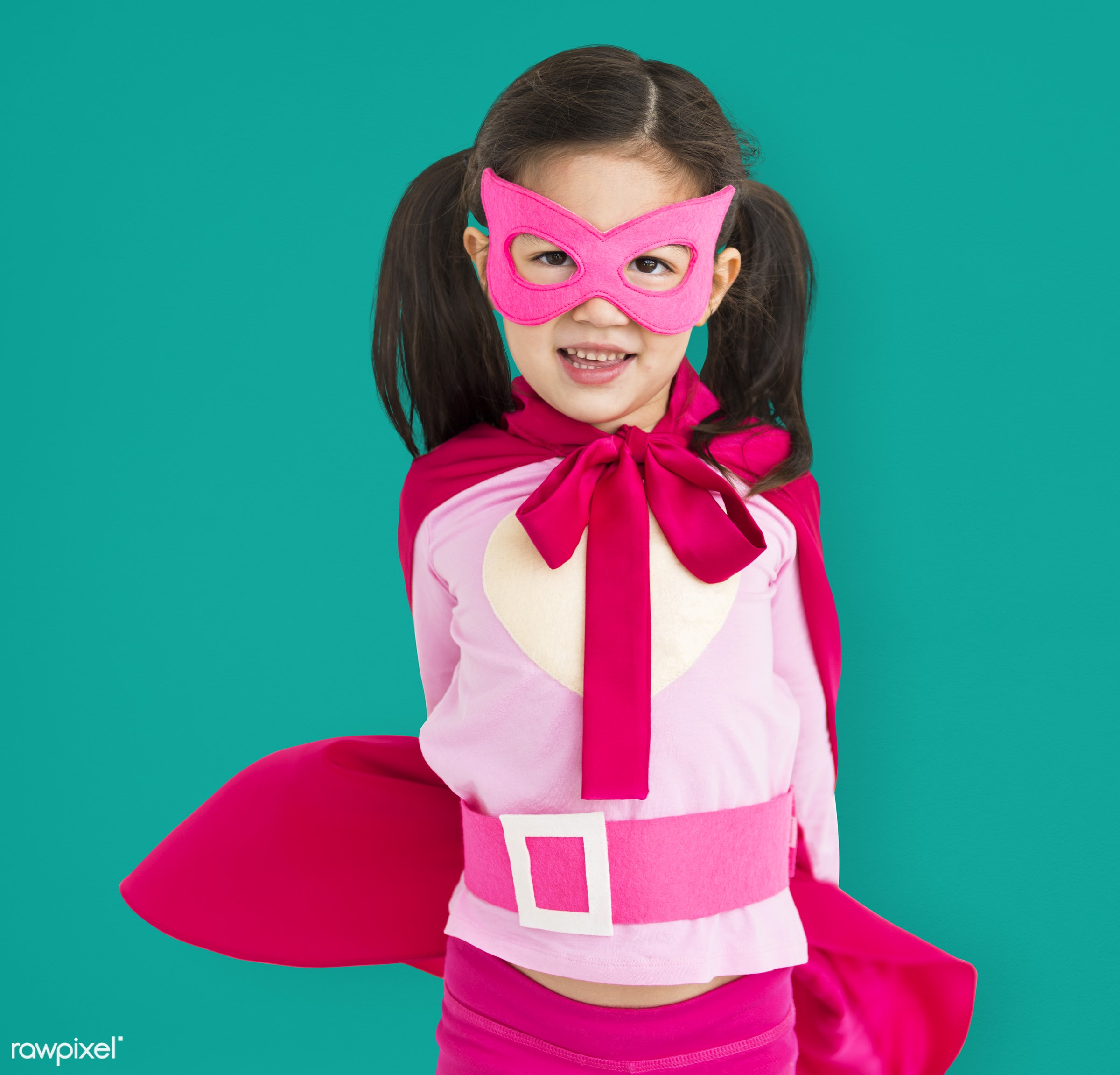 studio, expression, person, cape, joy, mask, little, cute, people, kid, love, girl, smile, cheerful, smiling, superhero,...