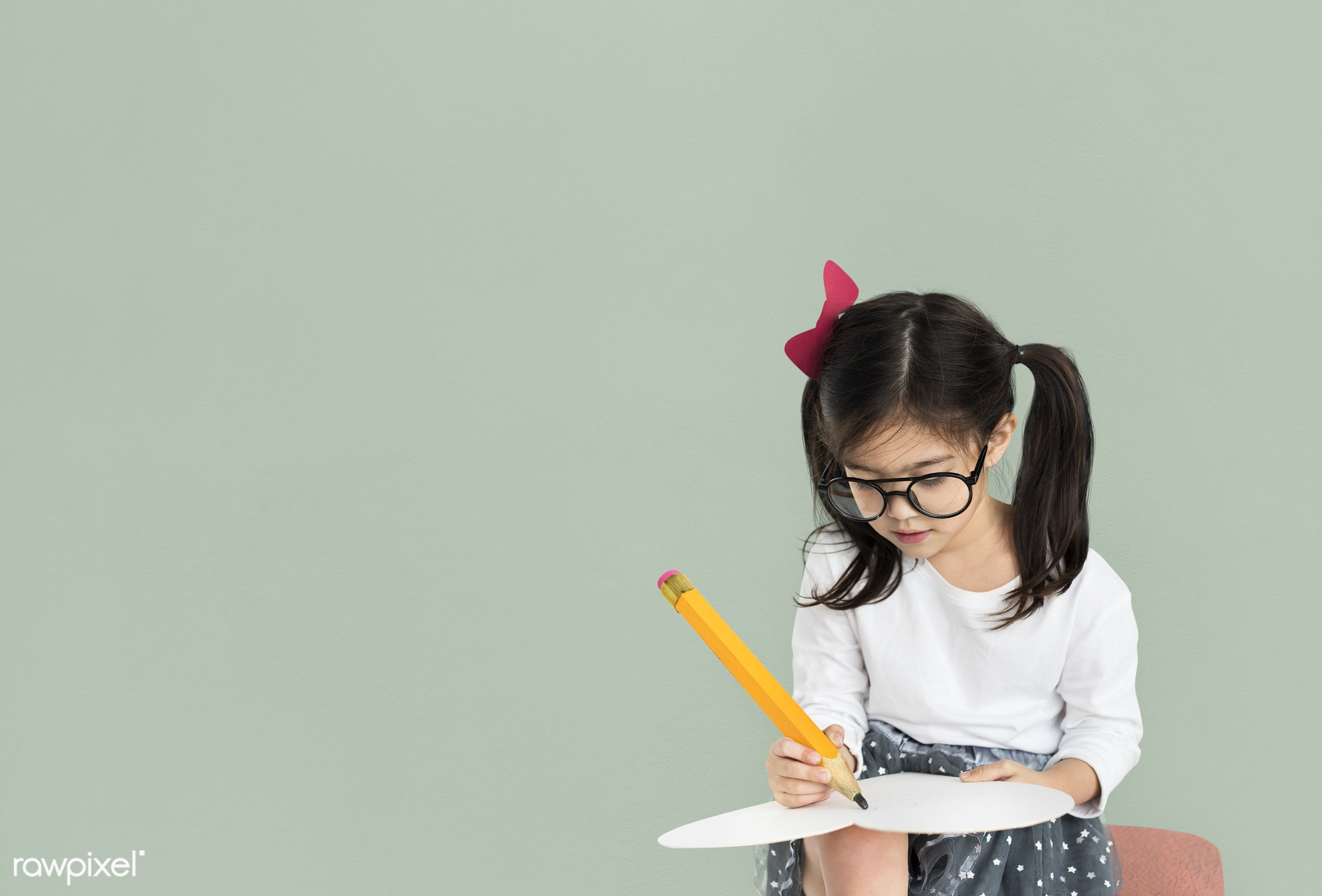 studio, person, knowledge, glasses, innocent, writing, little, education, people, kid, child, girl, curious, solo, happy,...