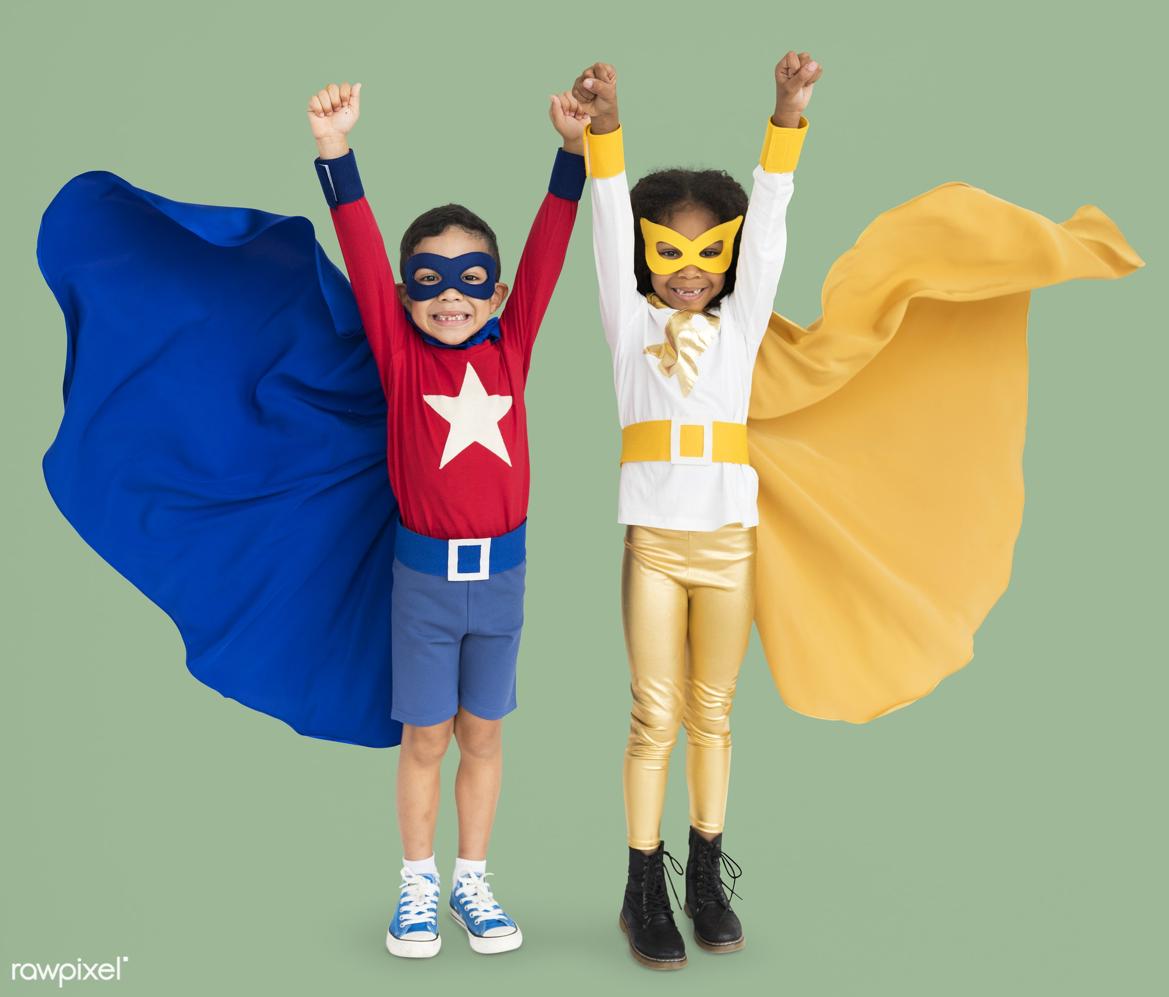 studio, expression, phone, person, cape, little, children, cute, people, together, kid, child, flying, girl, friends, happy...
