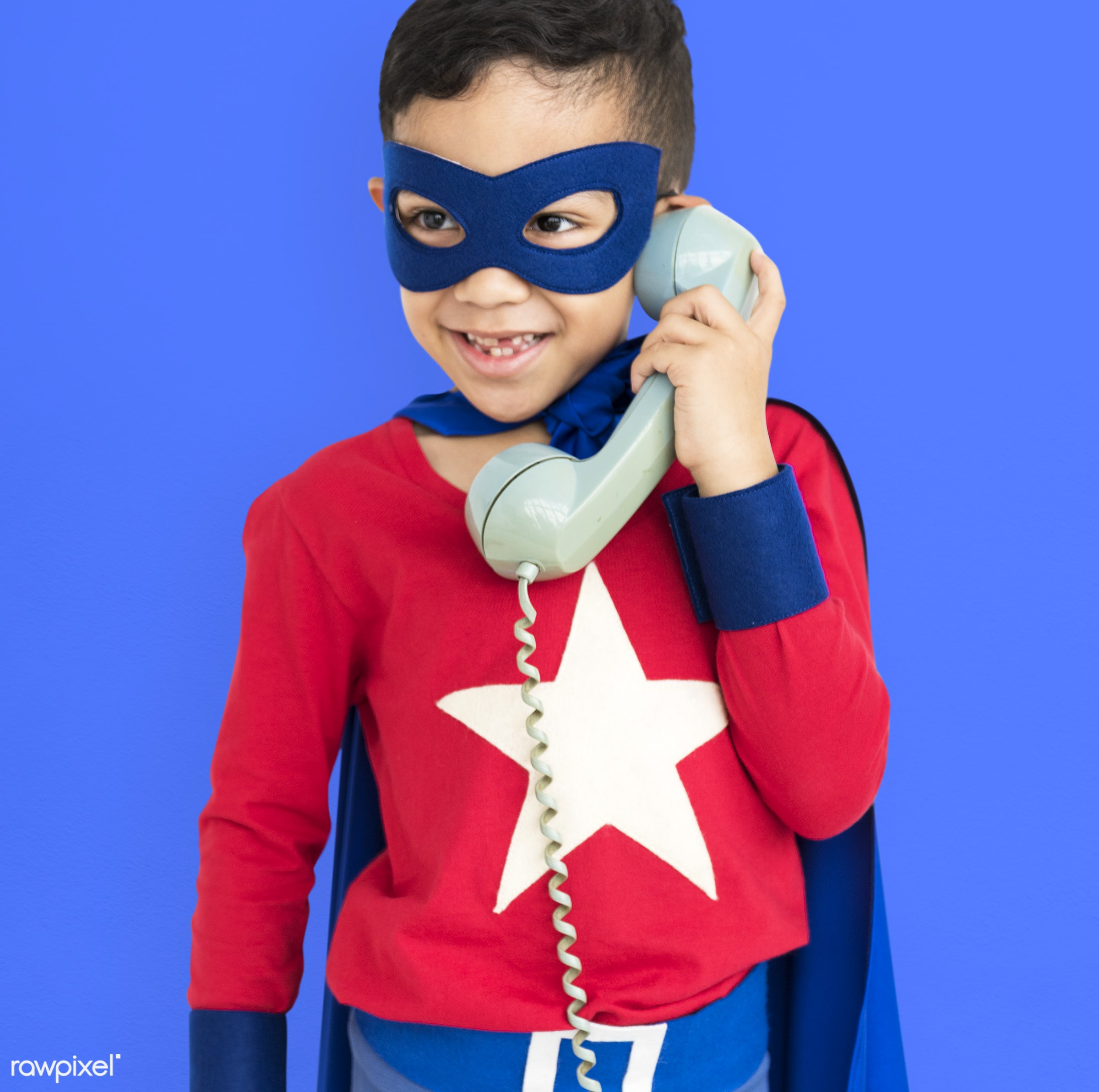 studio, expression, super hero, phone, person, little, children, calling, cute, people, kid, child, happy, smile, cheerful,...