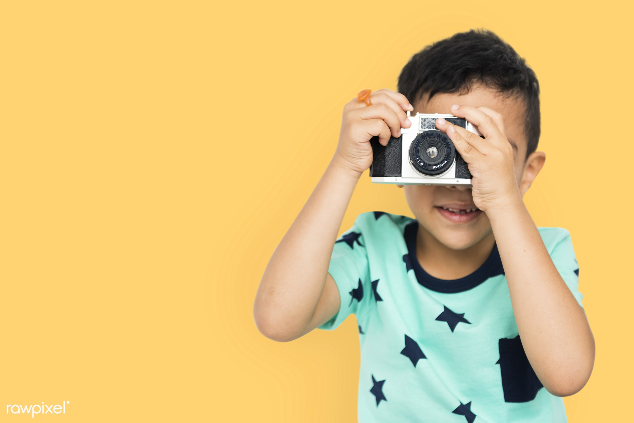 expression, studio, person, joy, little, cute, people, kid, child, joyous, happy, cheerful, isolated, camera, excited, fun,...