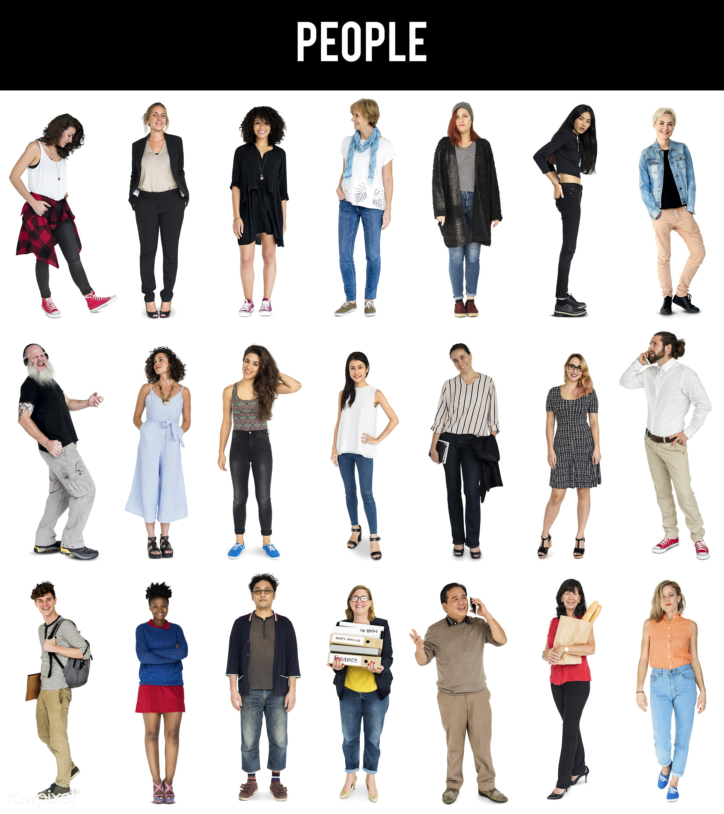 expression, full length, diverse, personality, people, race, caucasian, asian, woman, social, age, lifestyle, studio...