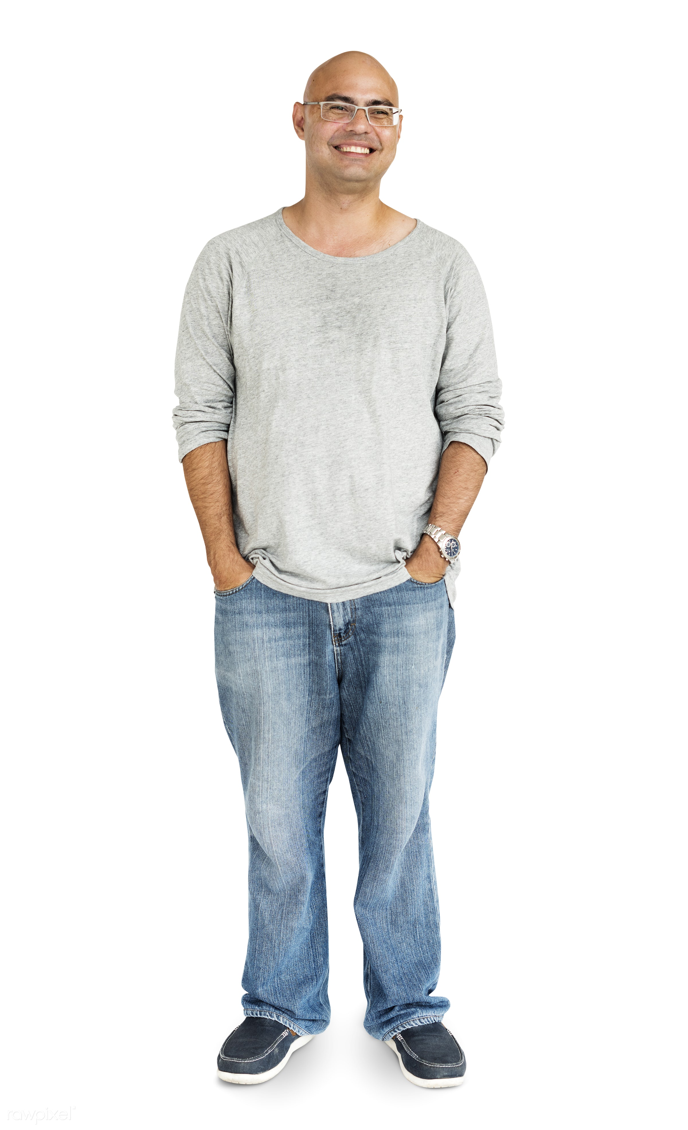 studio, expression, person, model, full length, isolated on white, optimistic, race, people, positivity, style, casual,...