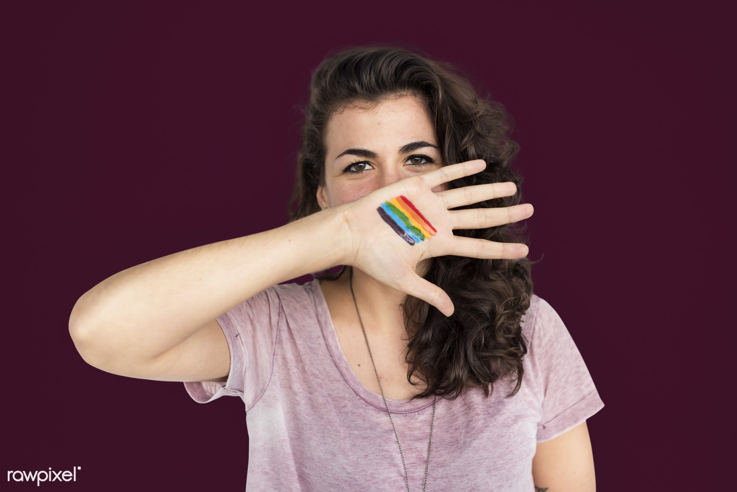 studio, expression, face, person, human rights, colorful, cover mouth, rights, beauty, cute, pretty, people, women rights,...