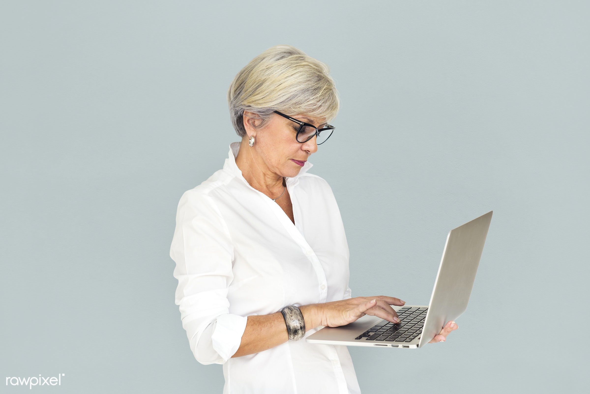 studio, expression, person, technology, business wear, sad, busy, frowning, people, business, caucasian, girl, woman, laptop...