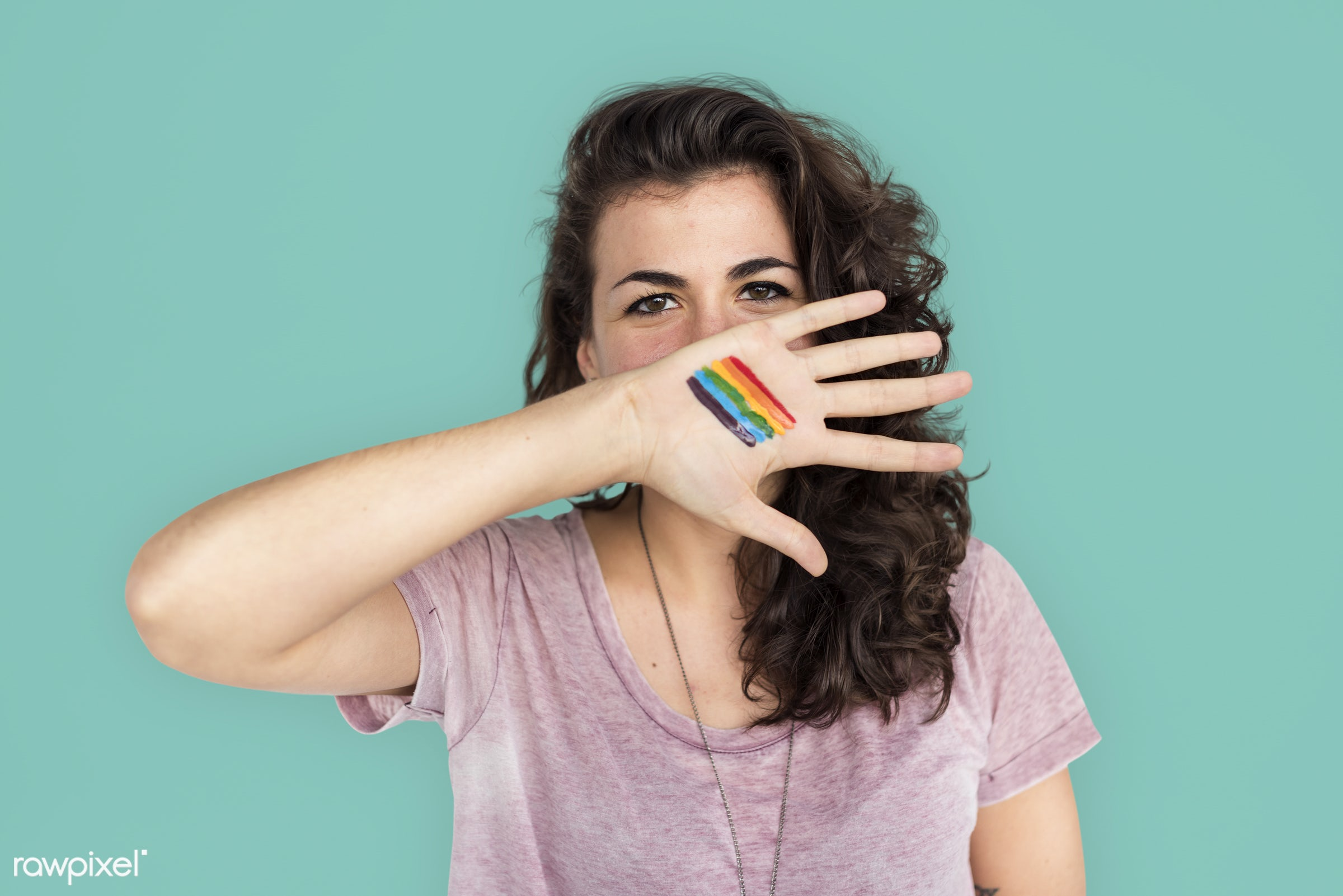 studio, face, person, human rights, colorful, cover mouth, rights, beauty, cute, pretty, people, women rights, lesbian, girl...