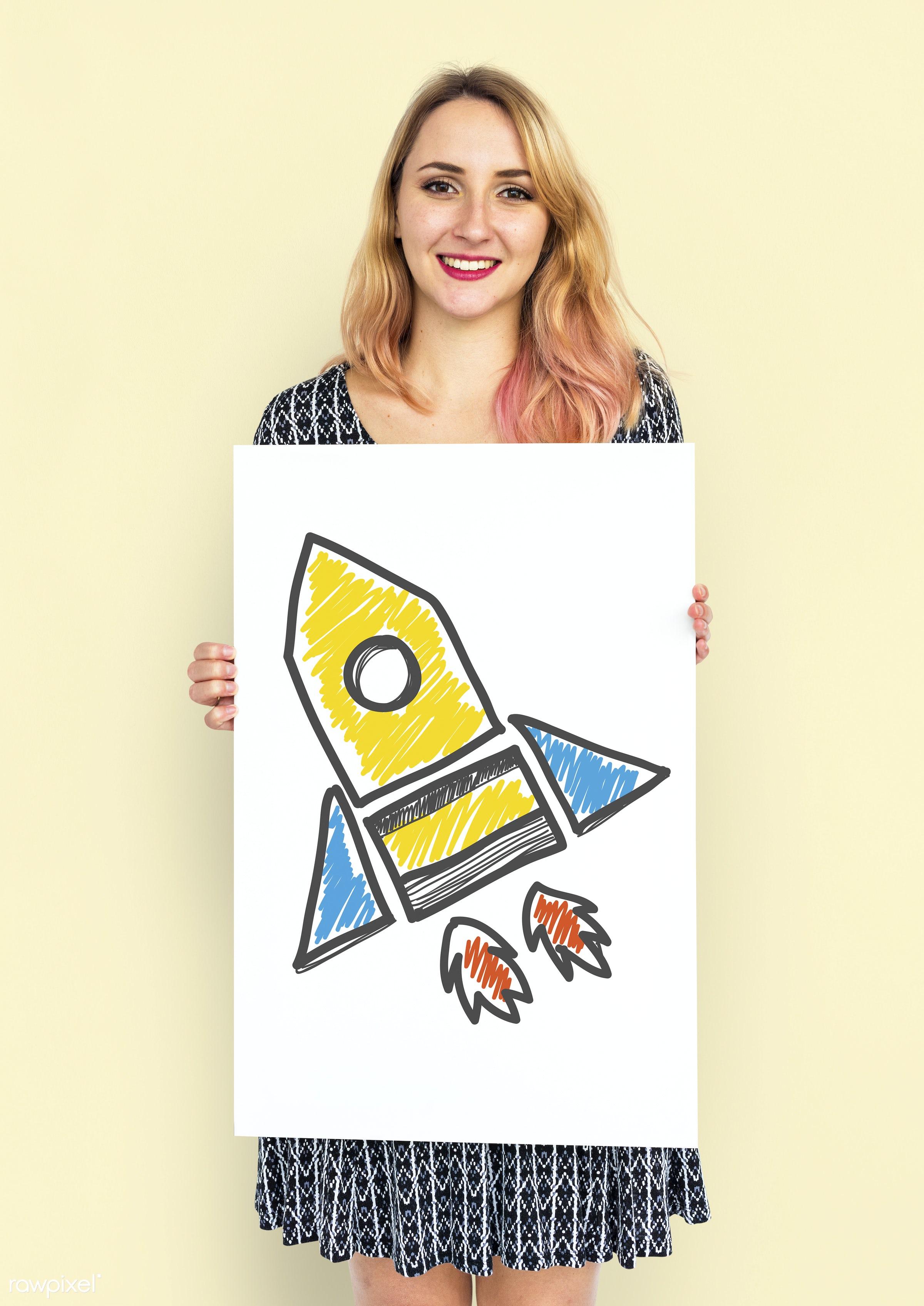 studio, expression, pastel, person, technology, emblem, holding, motivation, blond, yellow, people, exploration, science,...
