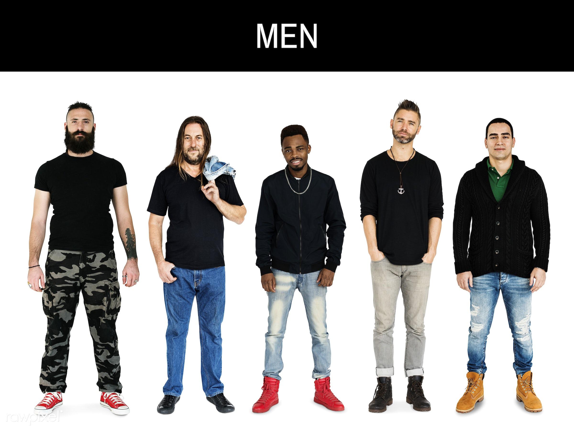 gentlemen, studio, person, diverse, relax, little, people, together, attraction, caucasian, black shirt, lifestyle, studio...