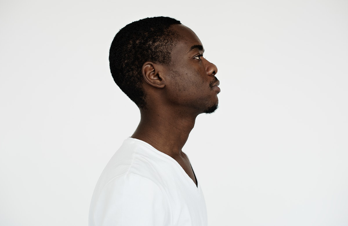 Worldface- Side view of an African man