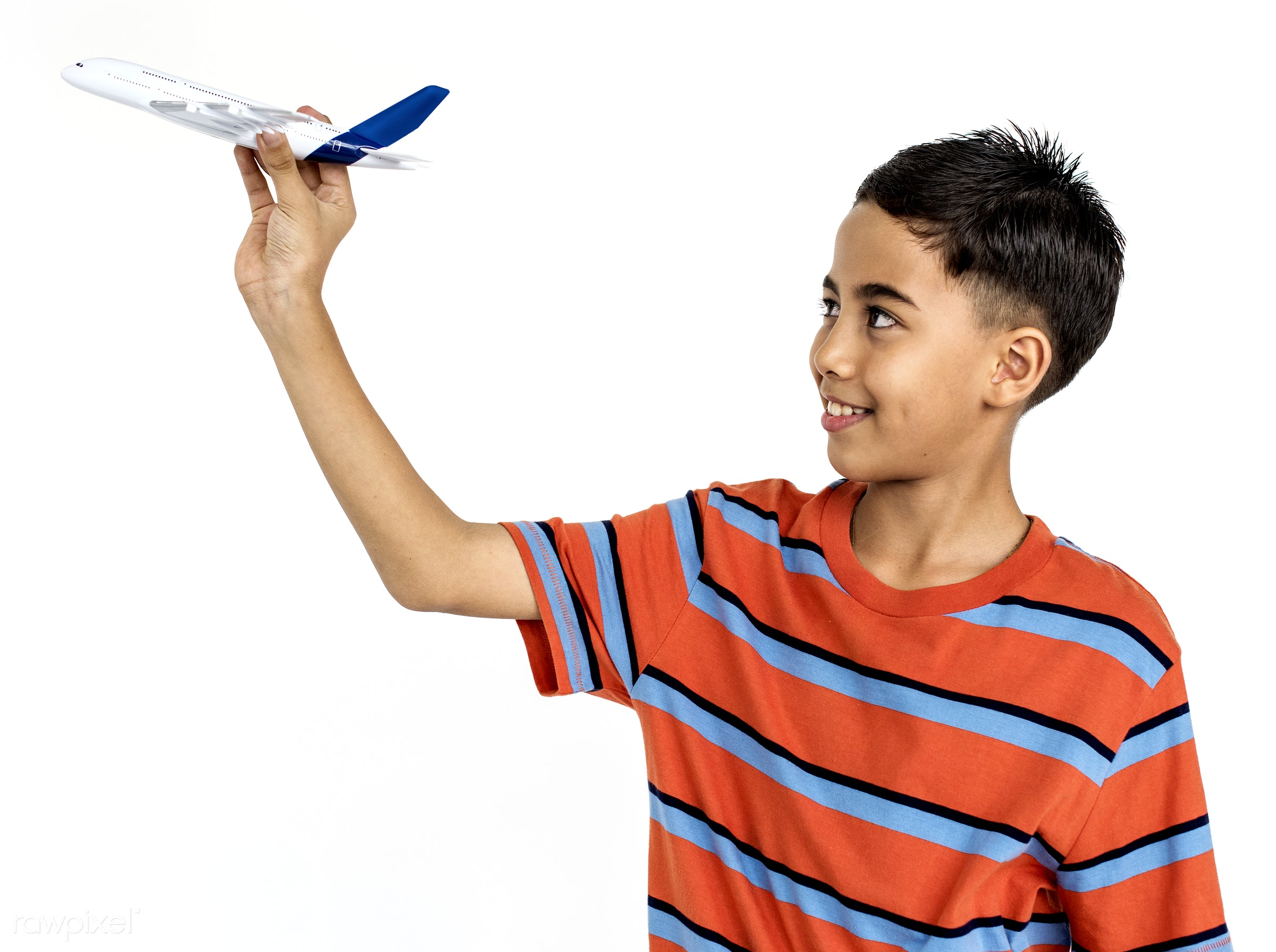 studio, expression, person, little, people, positivity, kid, smile, positive, cheerful, smiling, isolated, teen, airplane,...
