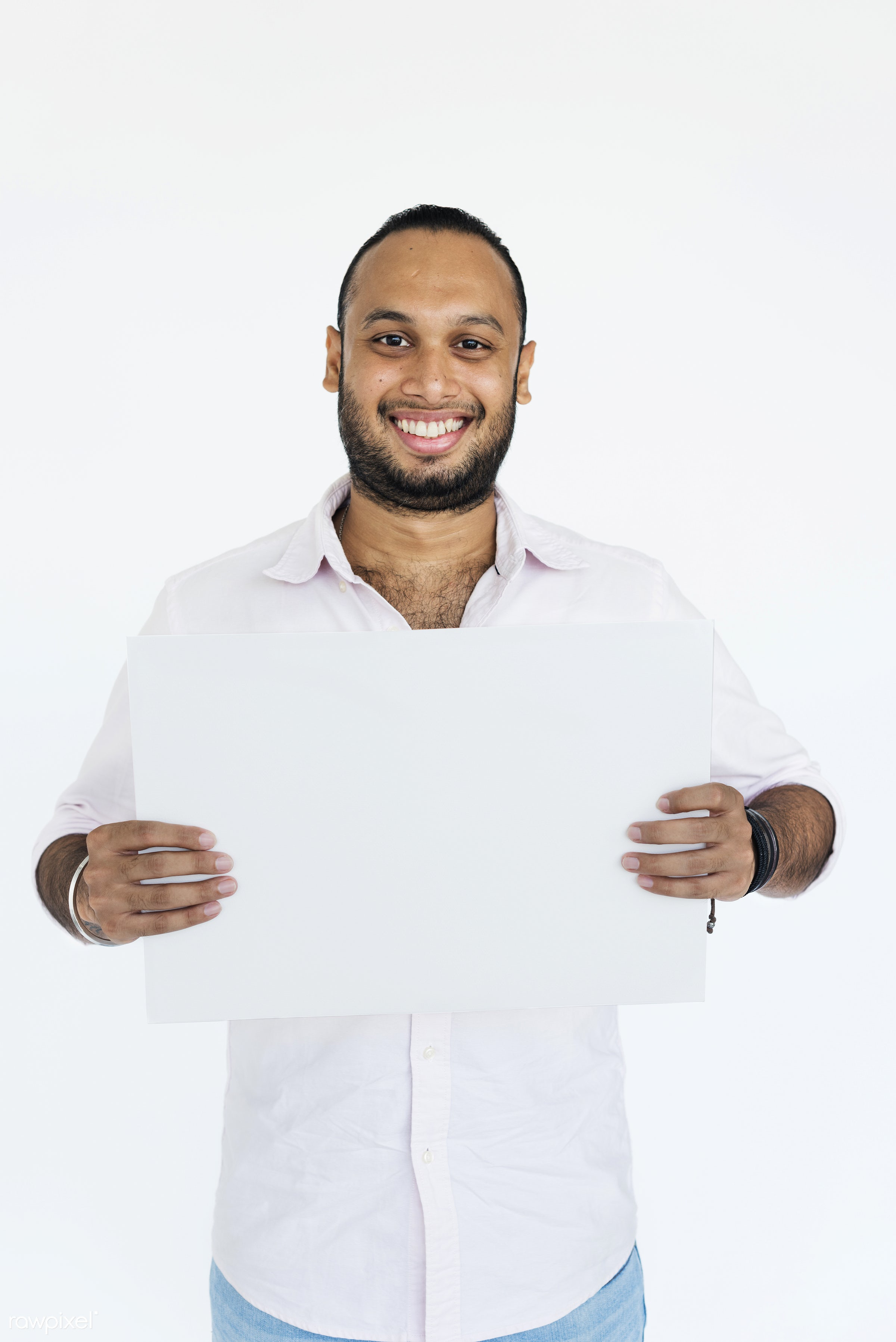 studio, expression, person, holding, show, people, displaying, placard, empty, positive, smile, cheerful, smiling, copy,...