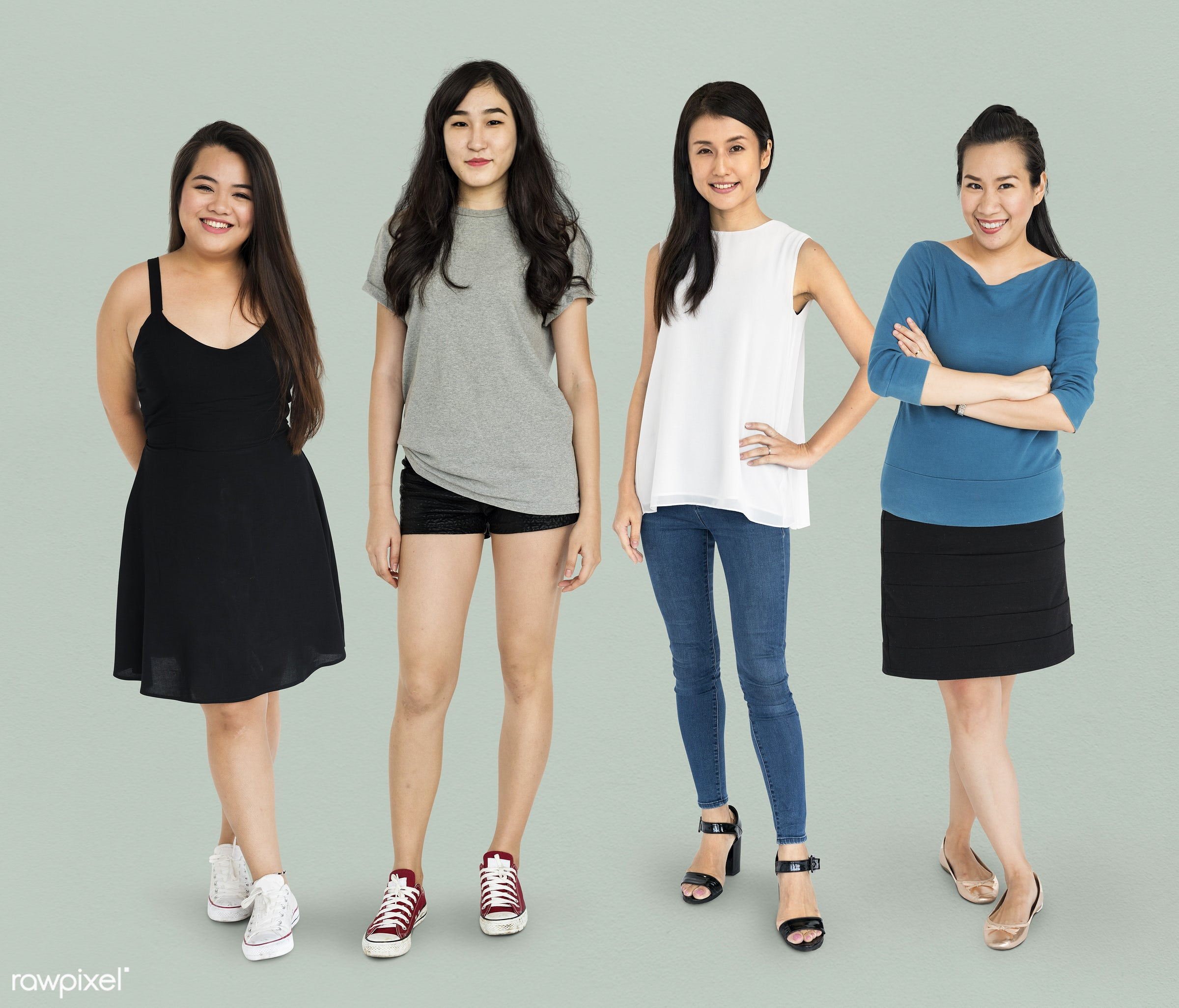 studio, person, diverse, set, people, attraction, together, asian, life, black hair, attractive, woman, lifestyle, feminine...