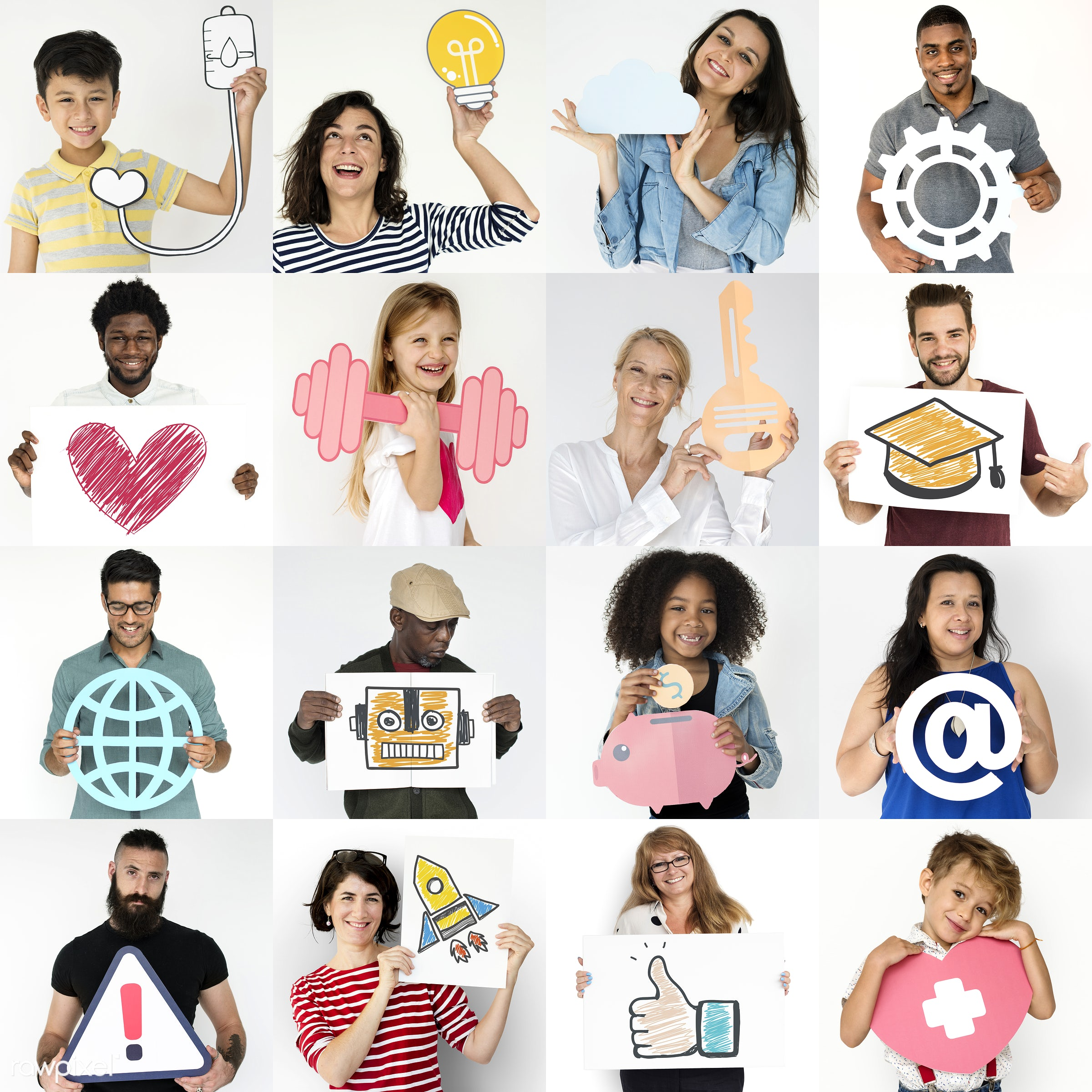 different, diverse, interests, variation, people, race, habits, conduct, life, integration, lifestyle, gender, situation,...