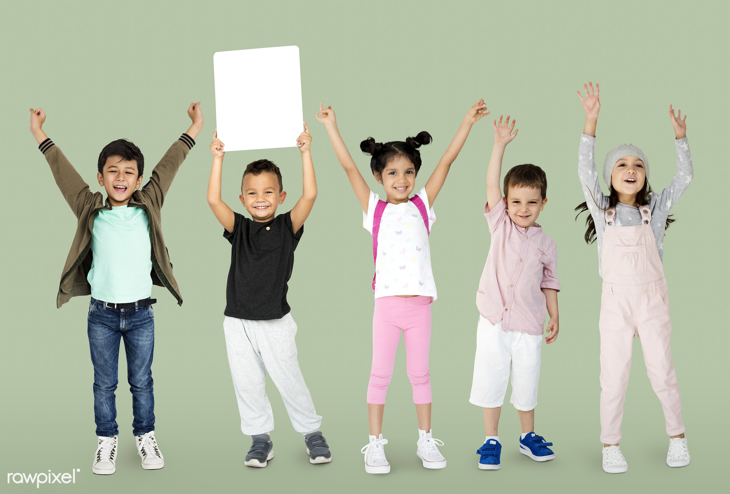 studio, copy space, person, playful, paper, children, little, entertain, show, people, caucasian, kid, child, girl, boys,...