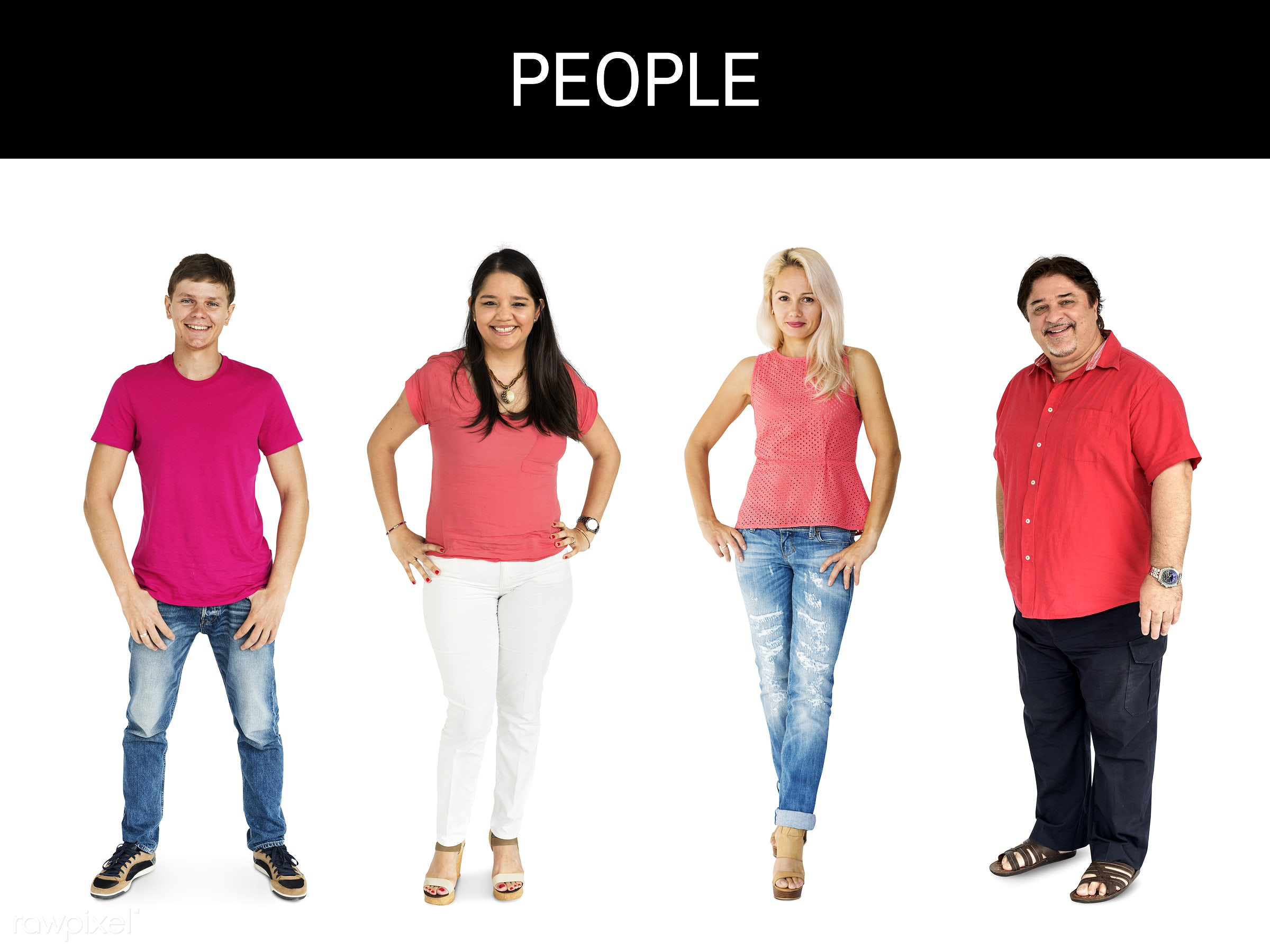 gentlemen, studio, person, diverse, set, red shirt, people, attraction, together, caucasian, asian, life, woman, attractive...