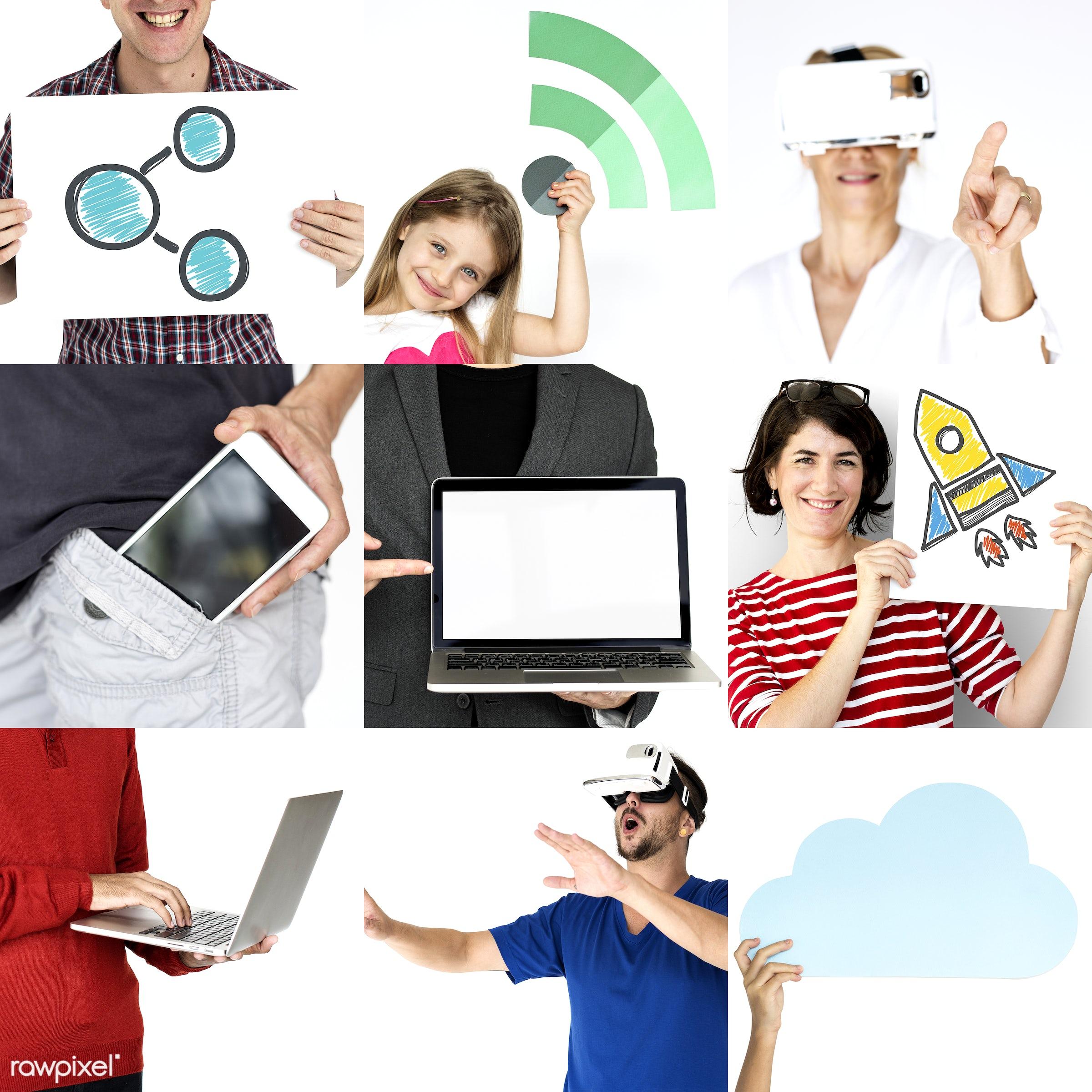 studio, using, person, phone, technology, download, people, kid, communicate, woman, lifestyle, laptop, studio squareset,...