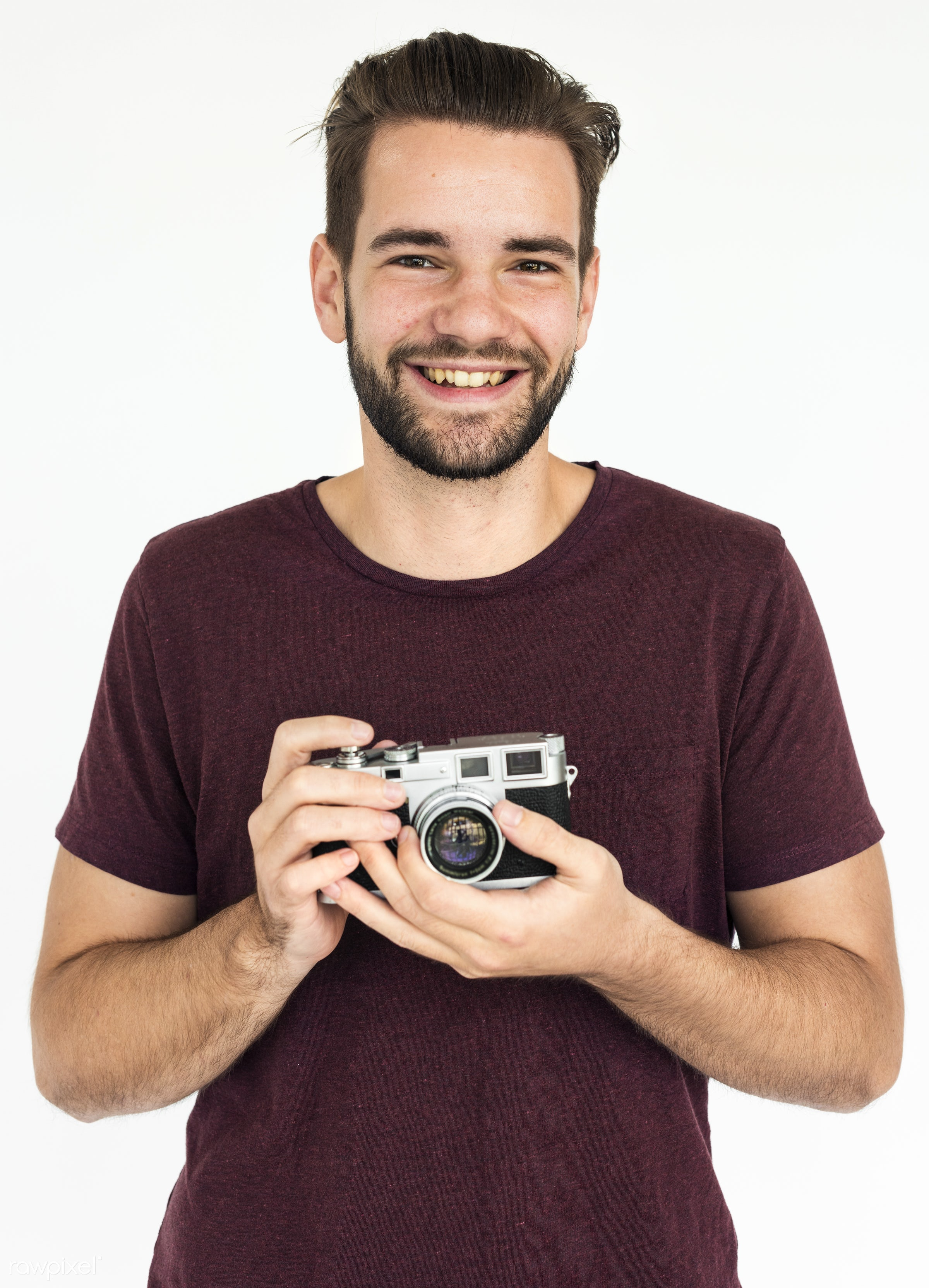 studio, expression, person, shot, people, positivity, caucasian, stubble, young adult, photographer, smile, cheerful,...
